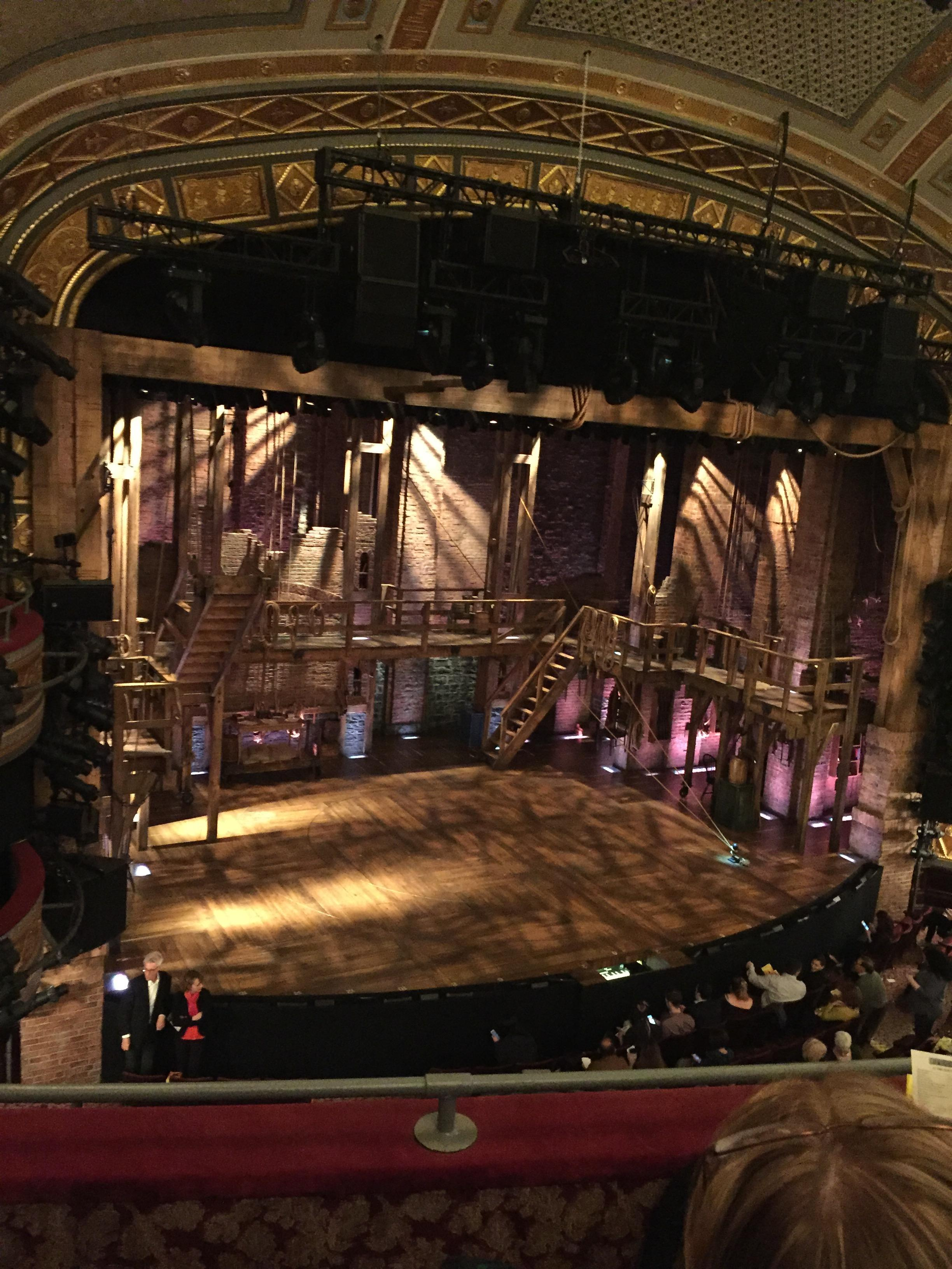 Richard Rodgers Theatre Section Front Mezzanine L Row C Seat 17