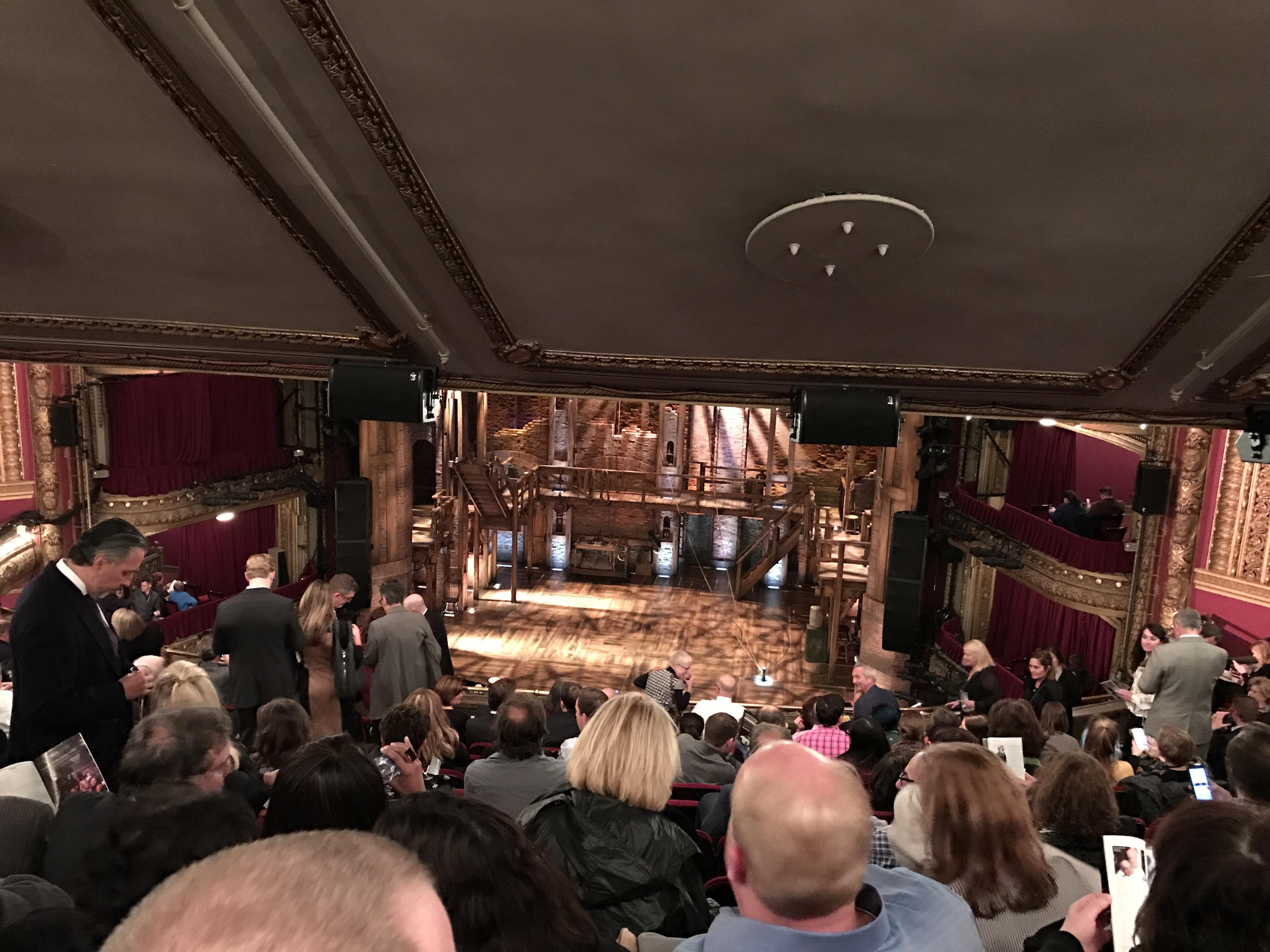 CIBC Theatre Section Mezzanine RC Row M Seat 312