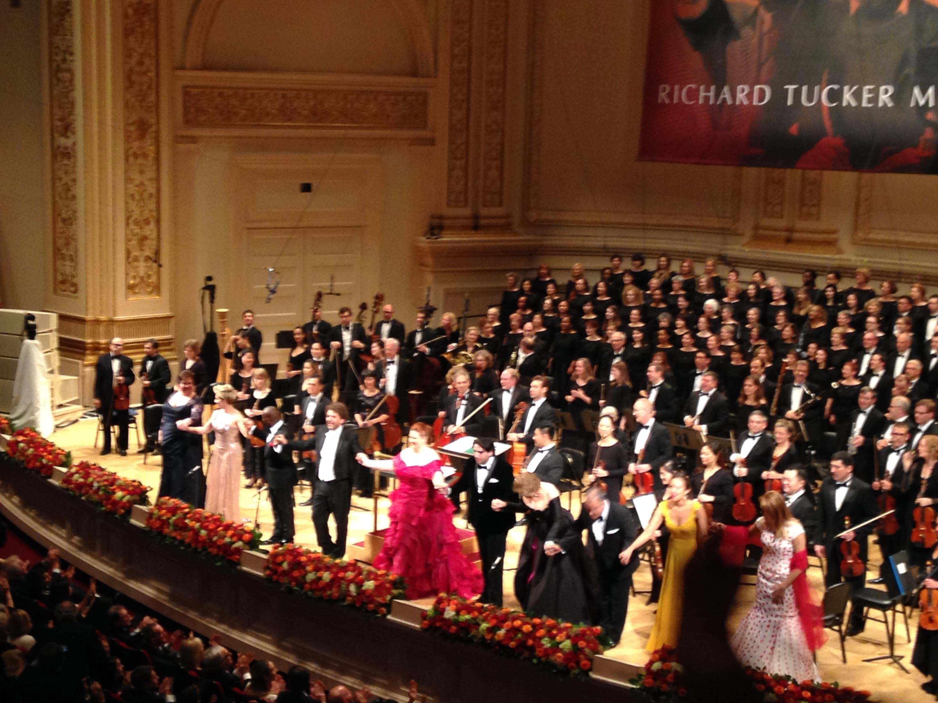 Carnegie Hall Section Box 13 Row 2 Seat 5