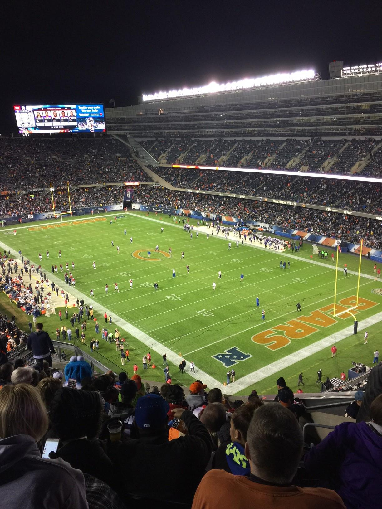 Soldier Field Section 429 Row 12 Seat 16