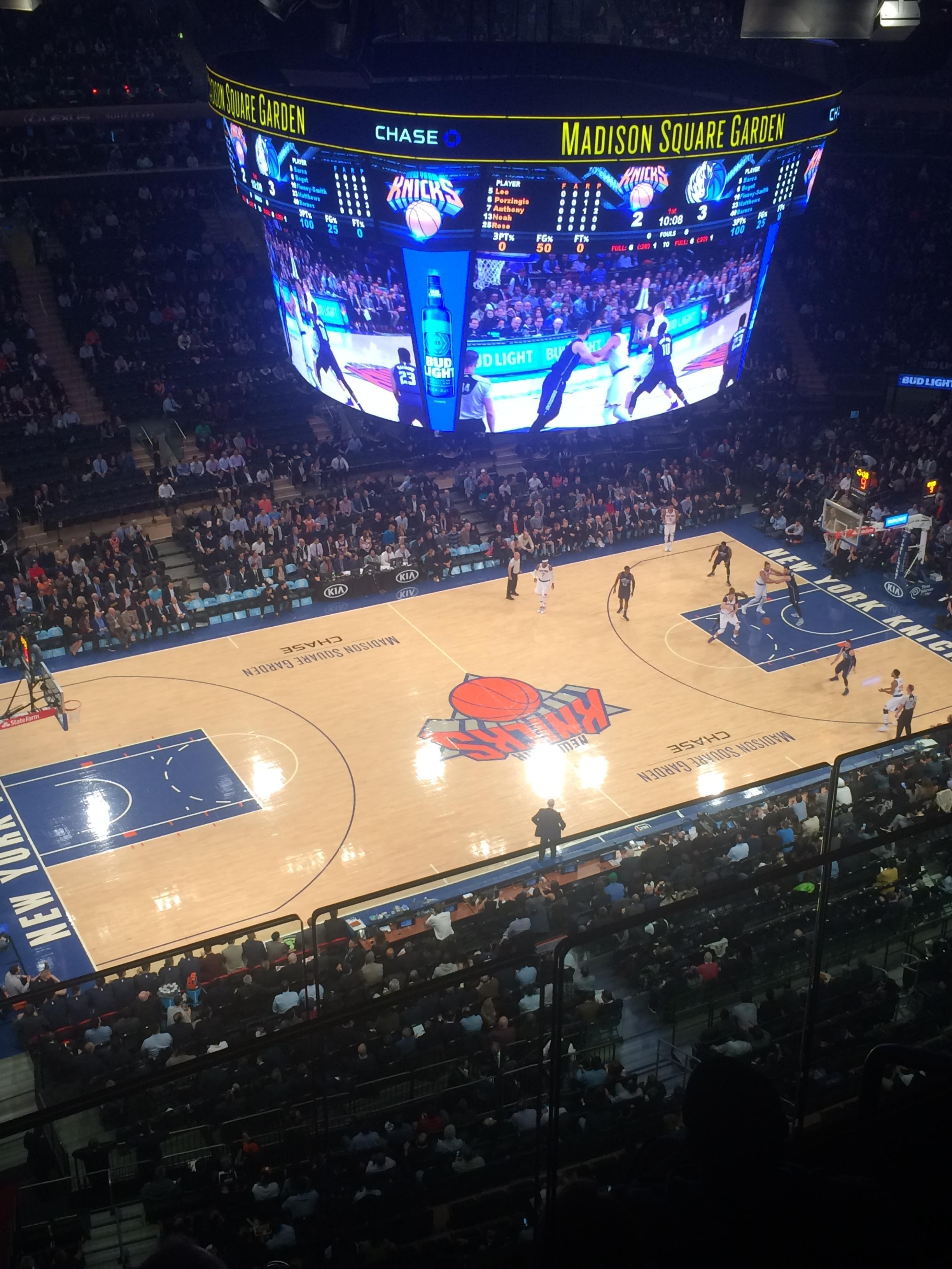 Madison Square Garden Section 311 Row 3 Seat 17