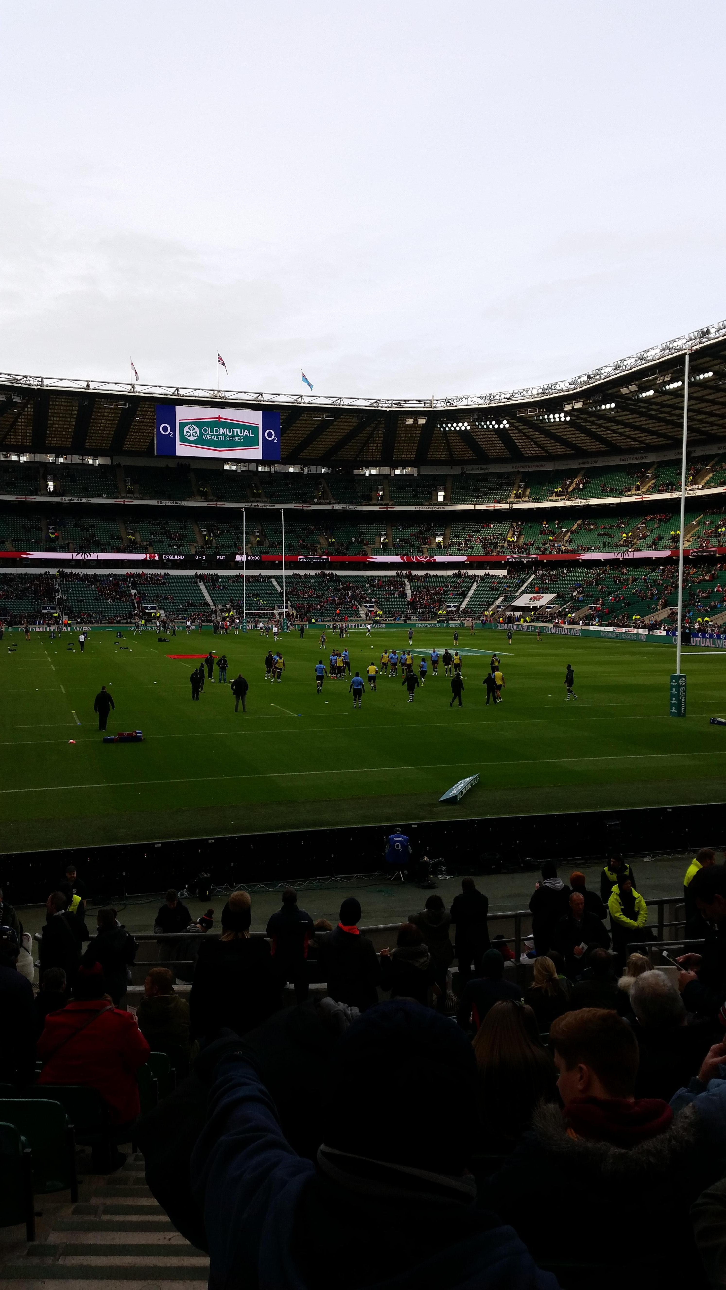 Twickenham Stadium Section L35 Row 22 Seat 238