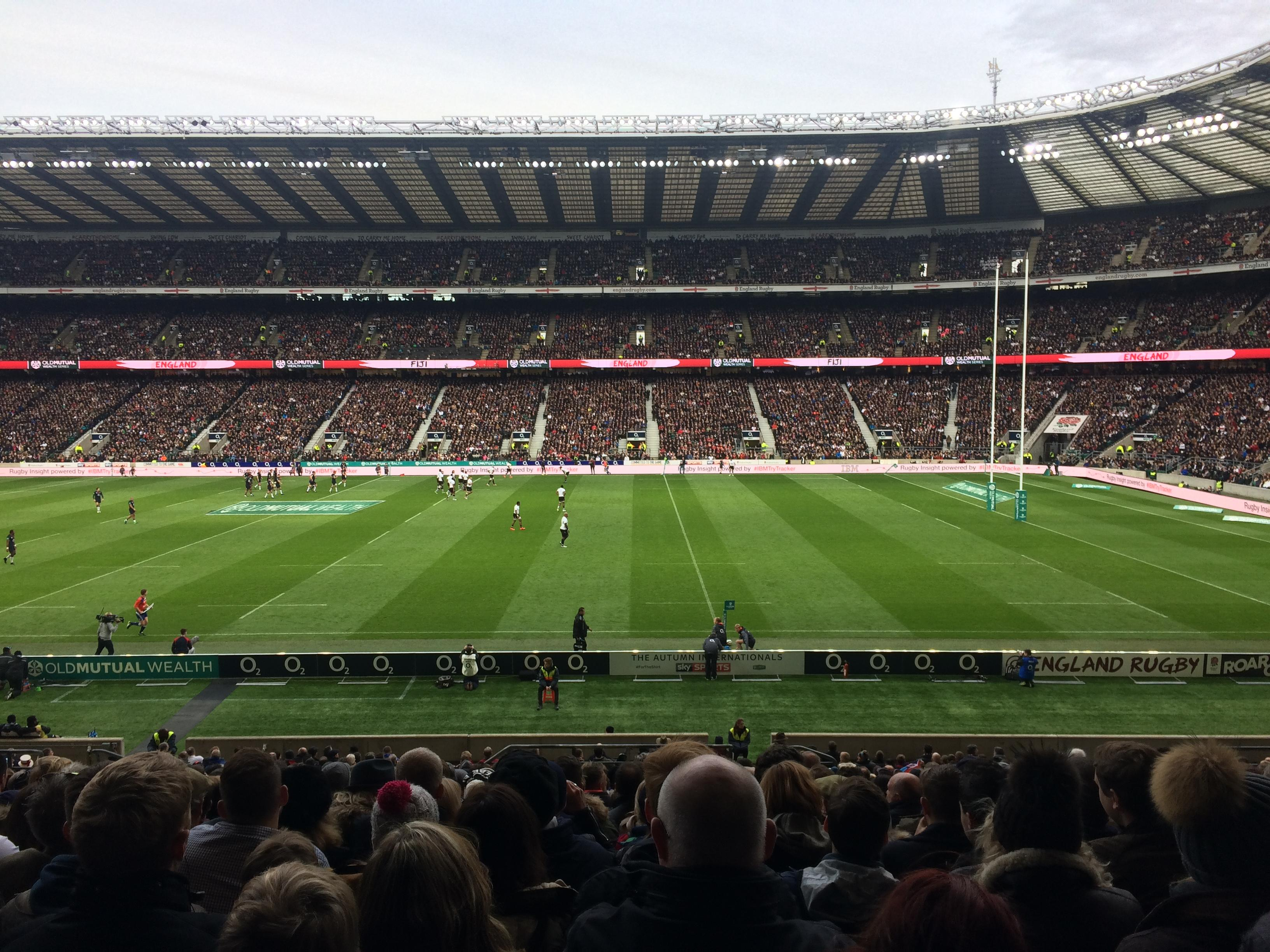 Twickenham Stadium Section L4 Row 34 Seat 200