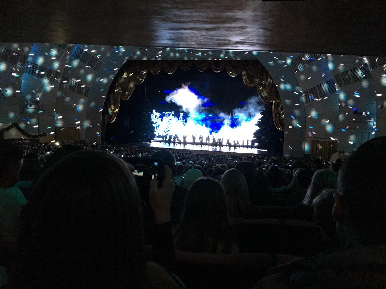 Radio City Music Hall Section Orchestra 3 Row U Seat 301