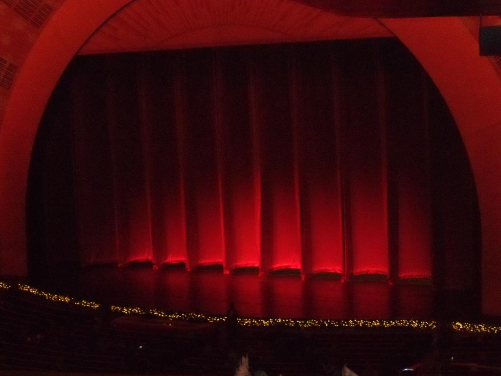 Radio City Music Hall Section 1st Mezzanine 1 Row J Seat 110