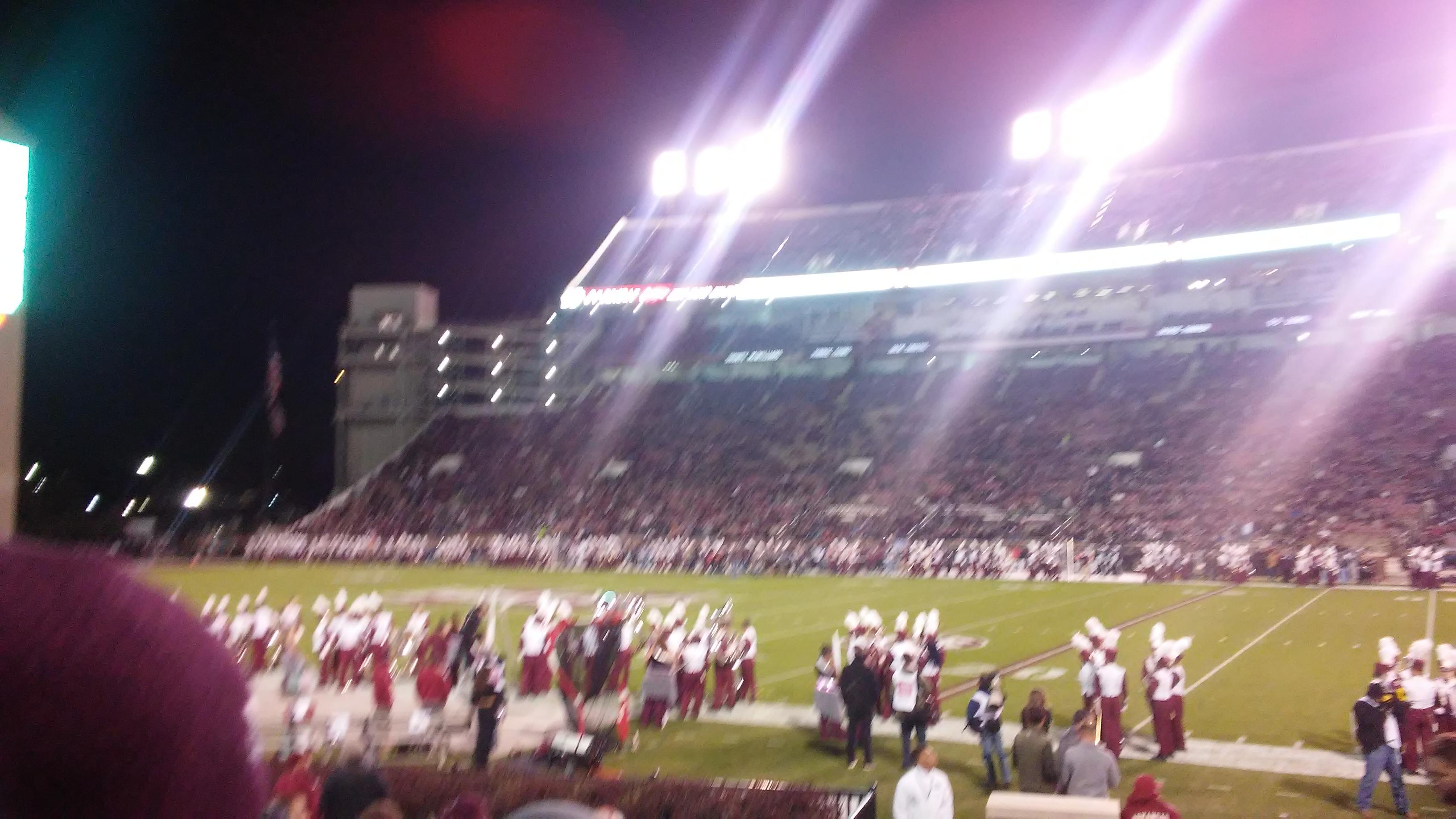 Davis Wade Stadium Section 18 Row 11 Seat 8