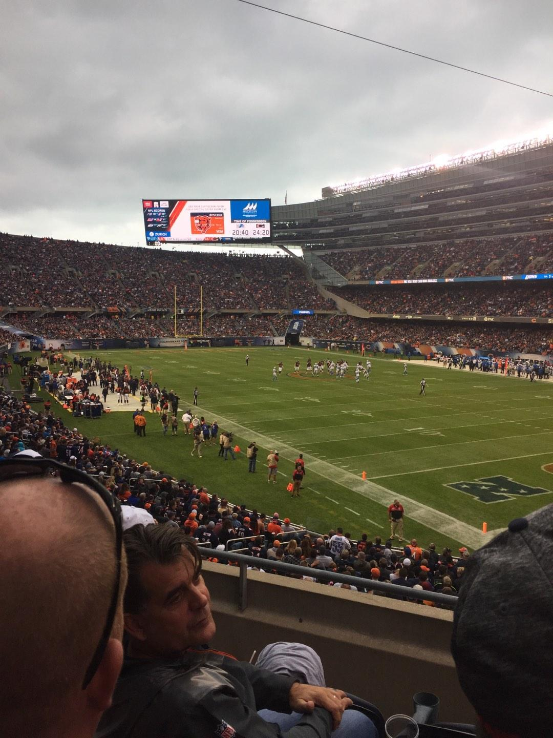 Soldier Field Section 228 Row 3 Seat 4