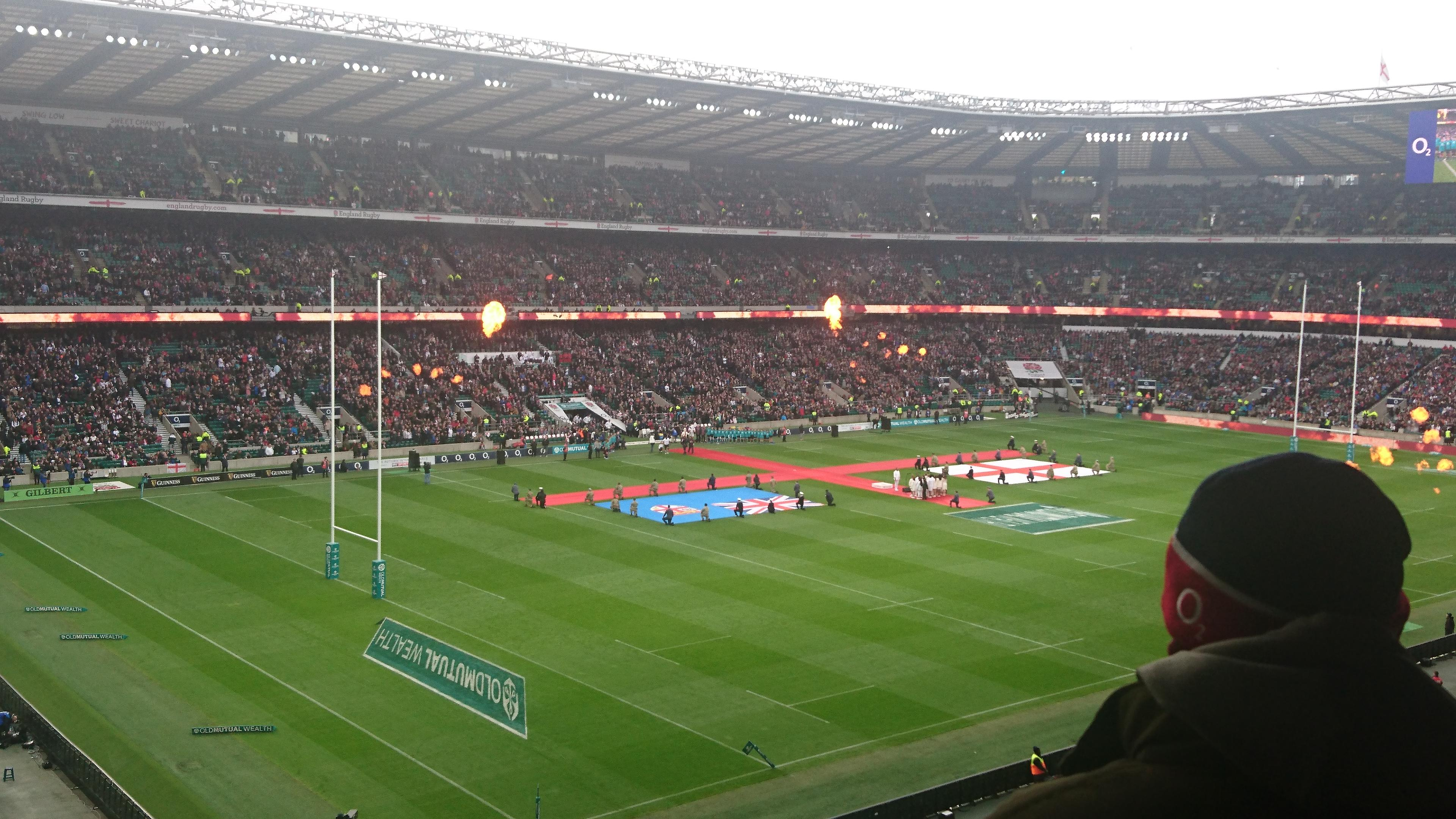 Twickenham Stadium Section M40 Row 65 Seat 15