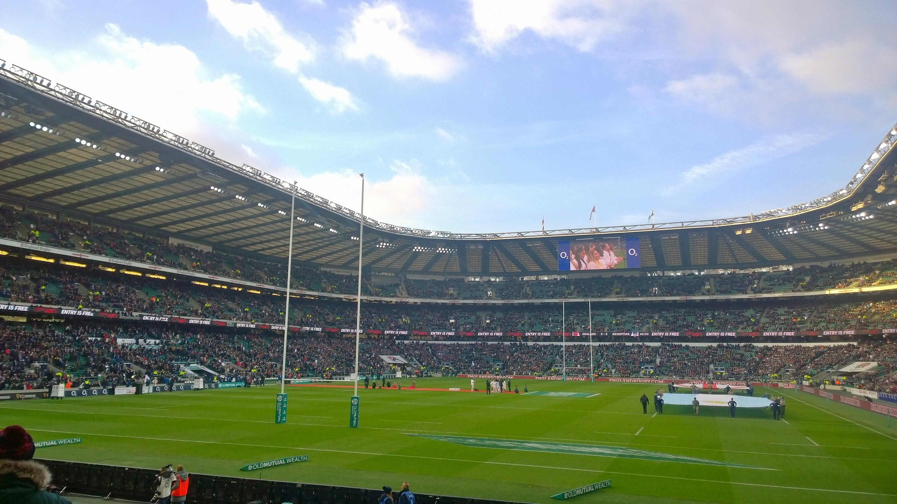 Twickenham Stadium Section L32 Row 16 Seat 115