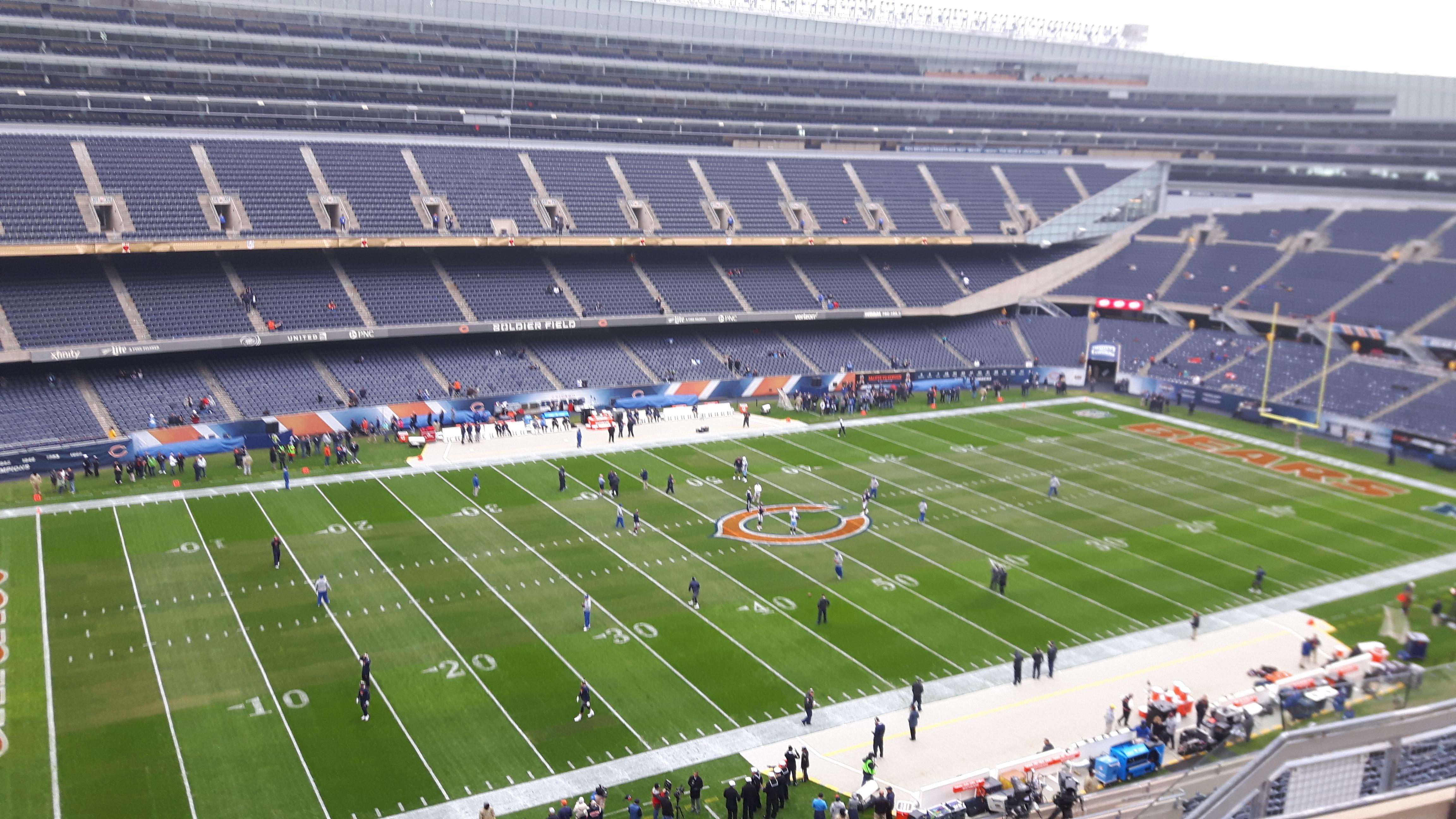 Soldier Field Section 441 Row 5 Seat 7