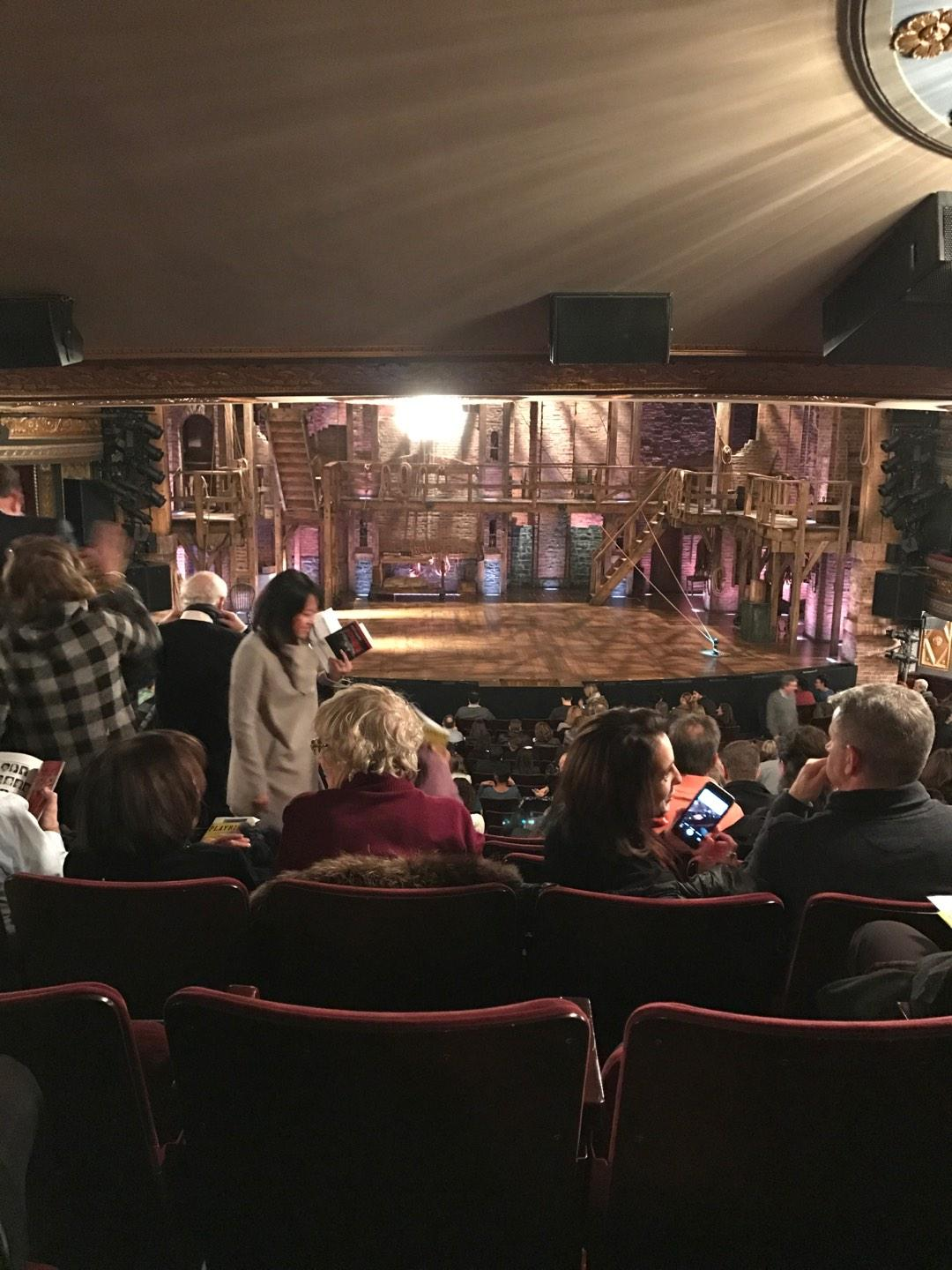 Richard Rodgers Theatre Section Orchestra C Row V Seat 111