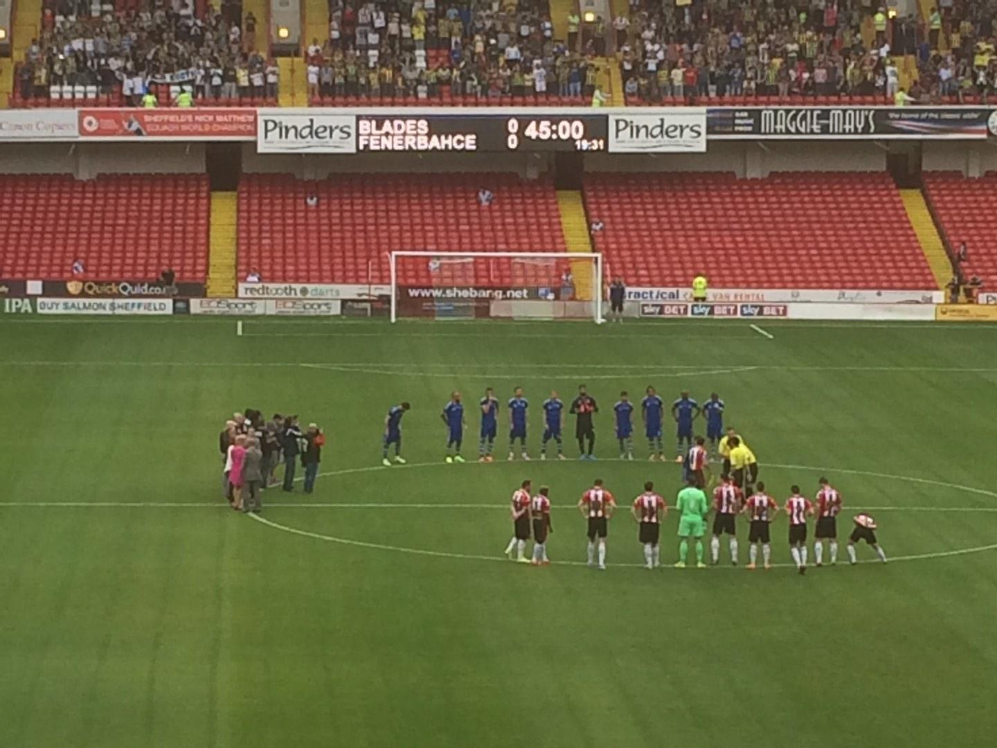 Bramall Lane Section E Row PP Seat 87