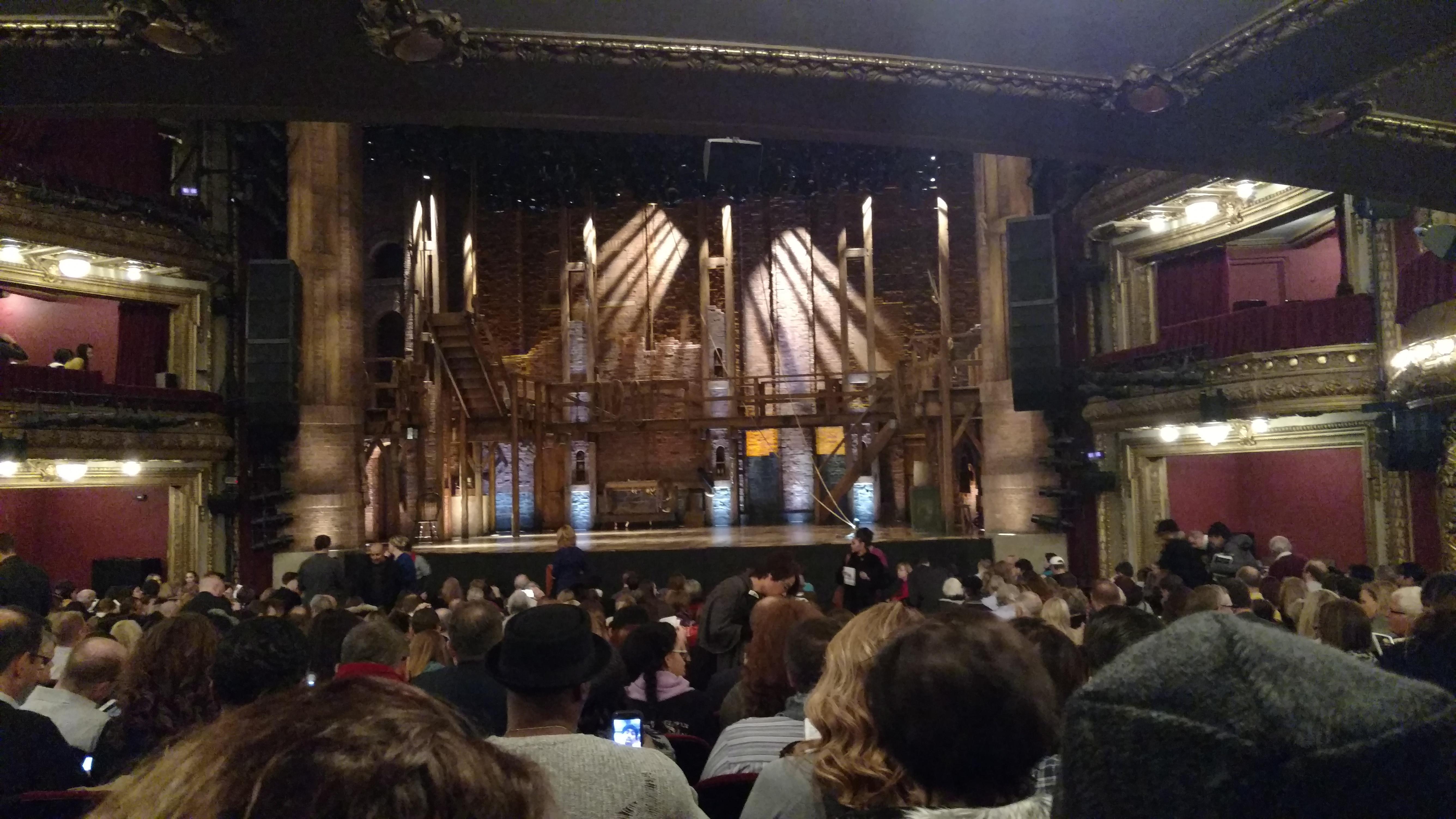 CIBC Theatre Section Orchestra C Row W Seat 117