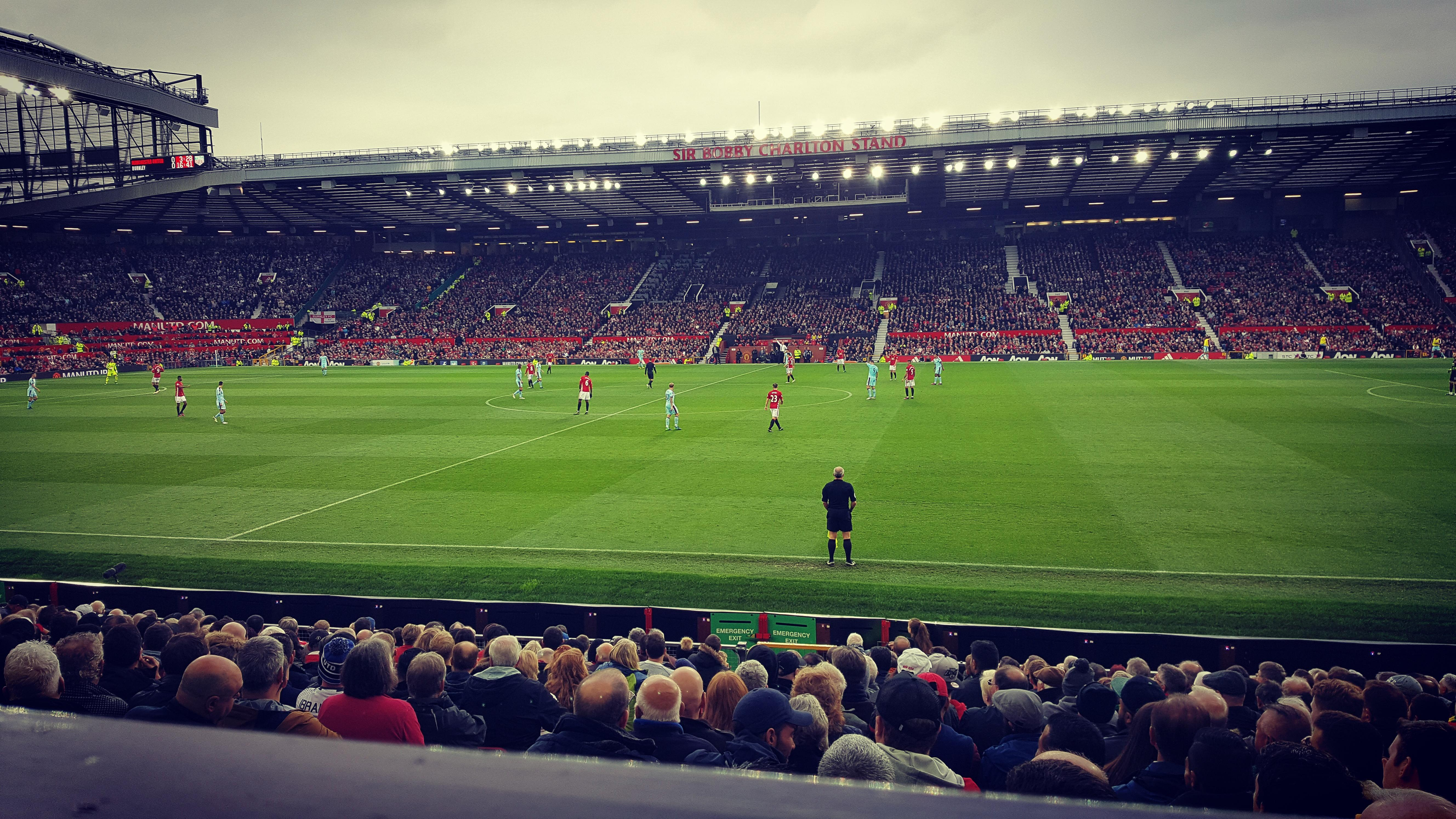 Old Trafford Section Sir Alex Ferguson Stand