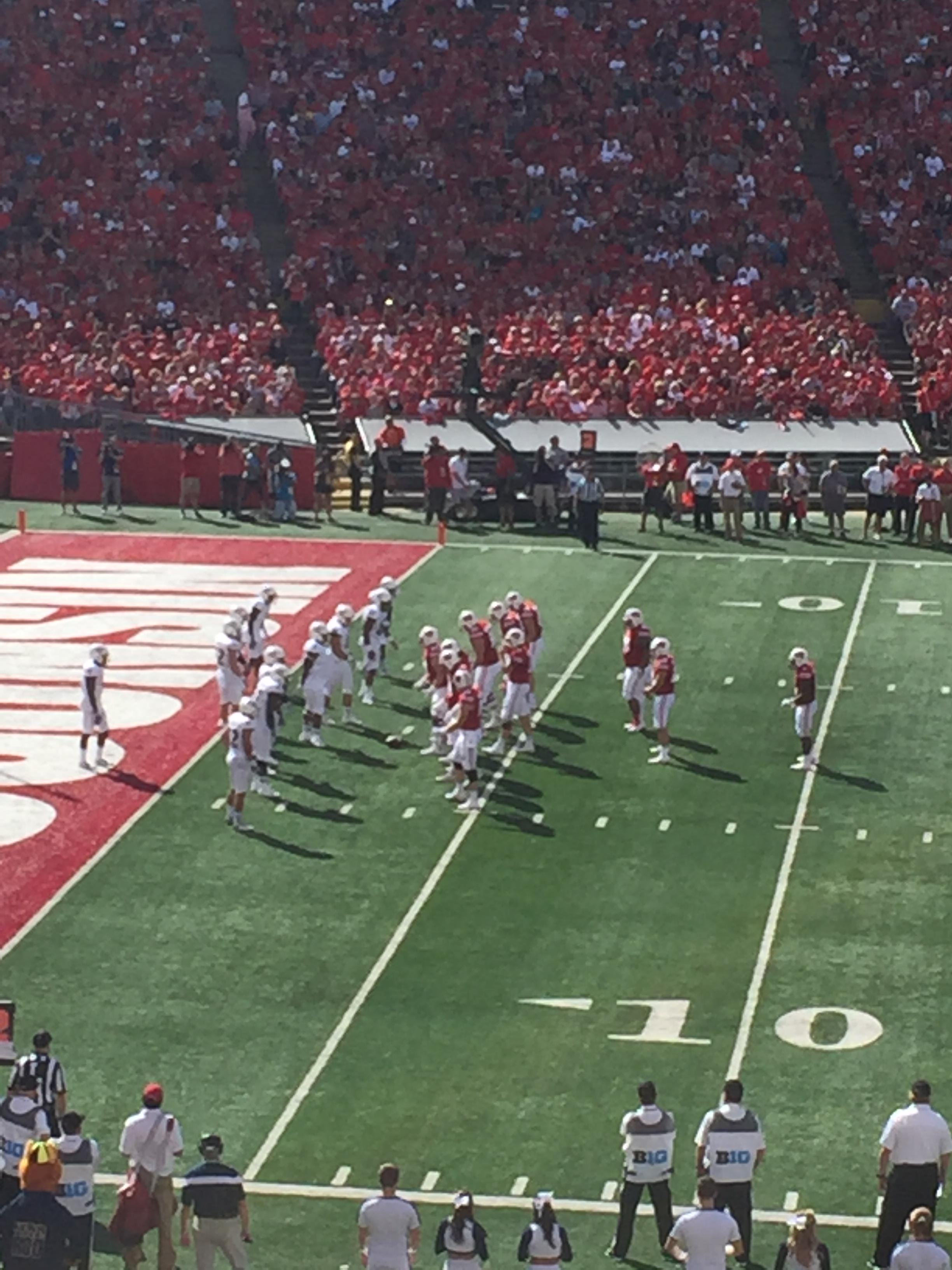 Camp Randall Stadium Section V Row 46 Seat 19