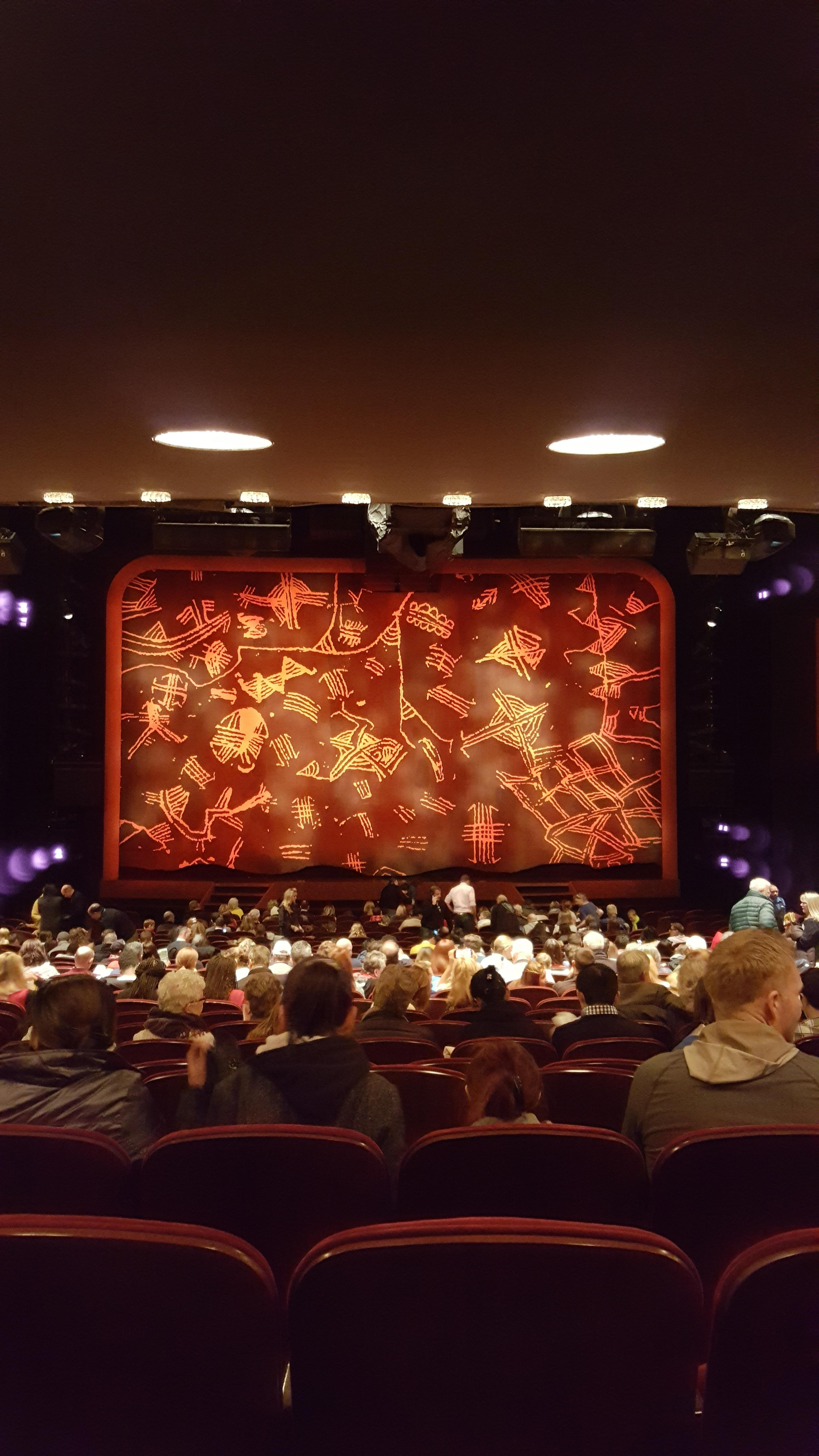 Minskoff Theatre Section ORCH Row ZZ  Seat 115