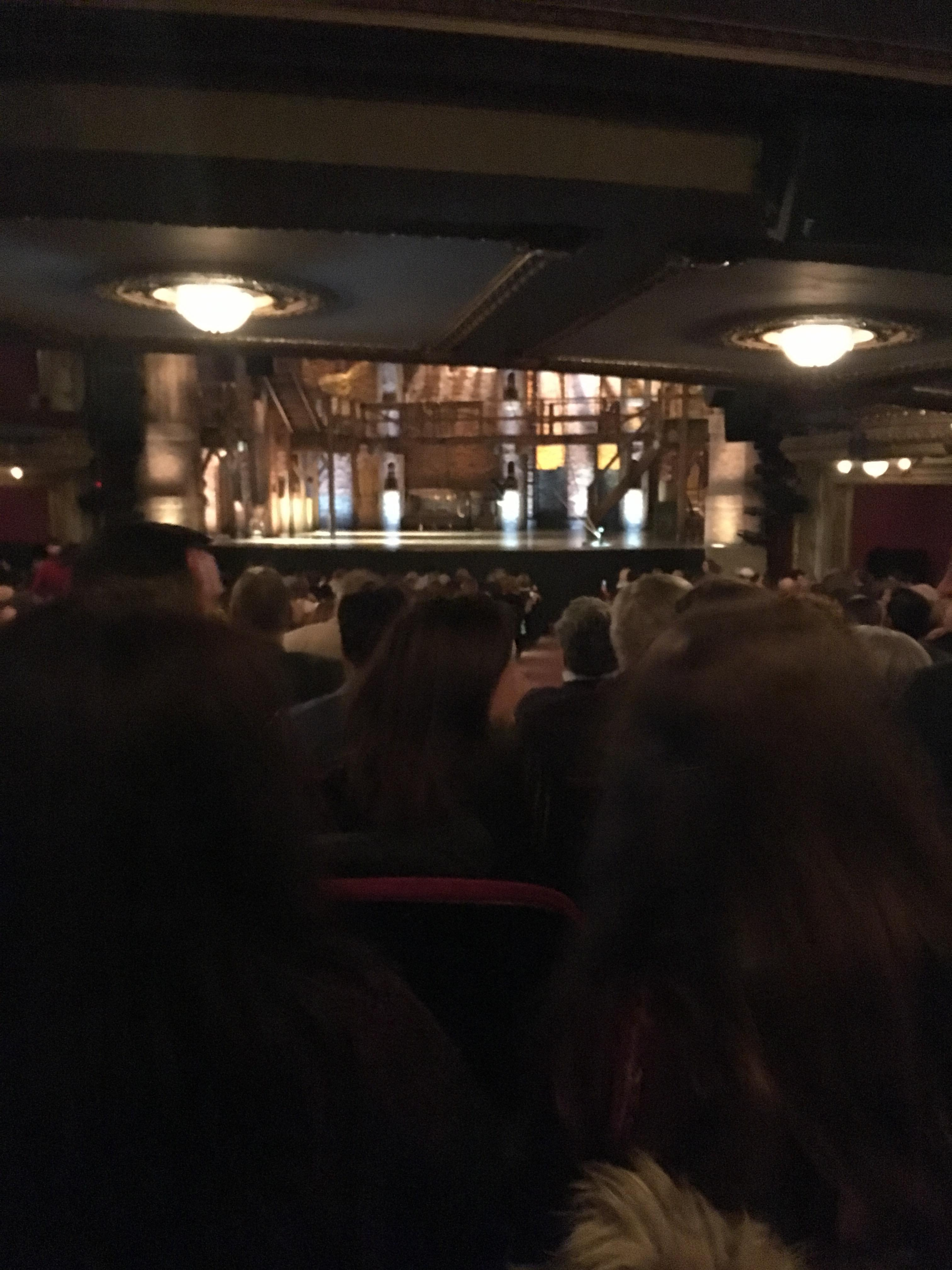 CIBC Theatre Section Orchestra C Row Z Seat 120