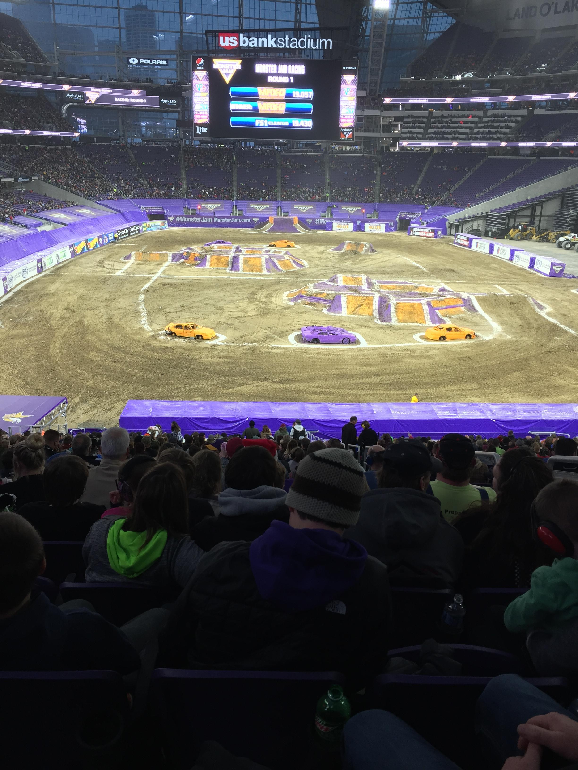 U.S. Bank Stadium Section 120 Row 39 Seat 3