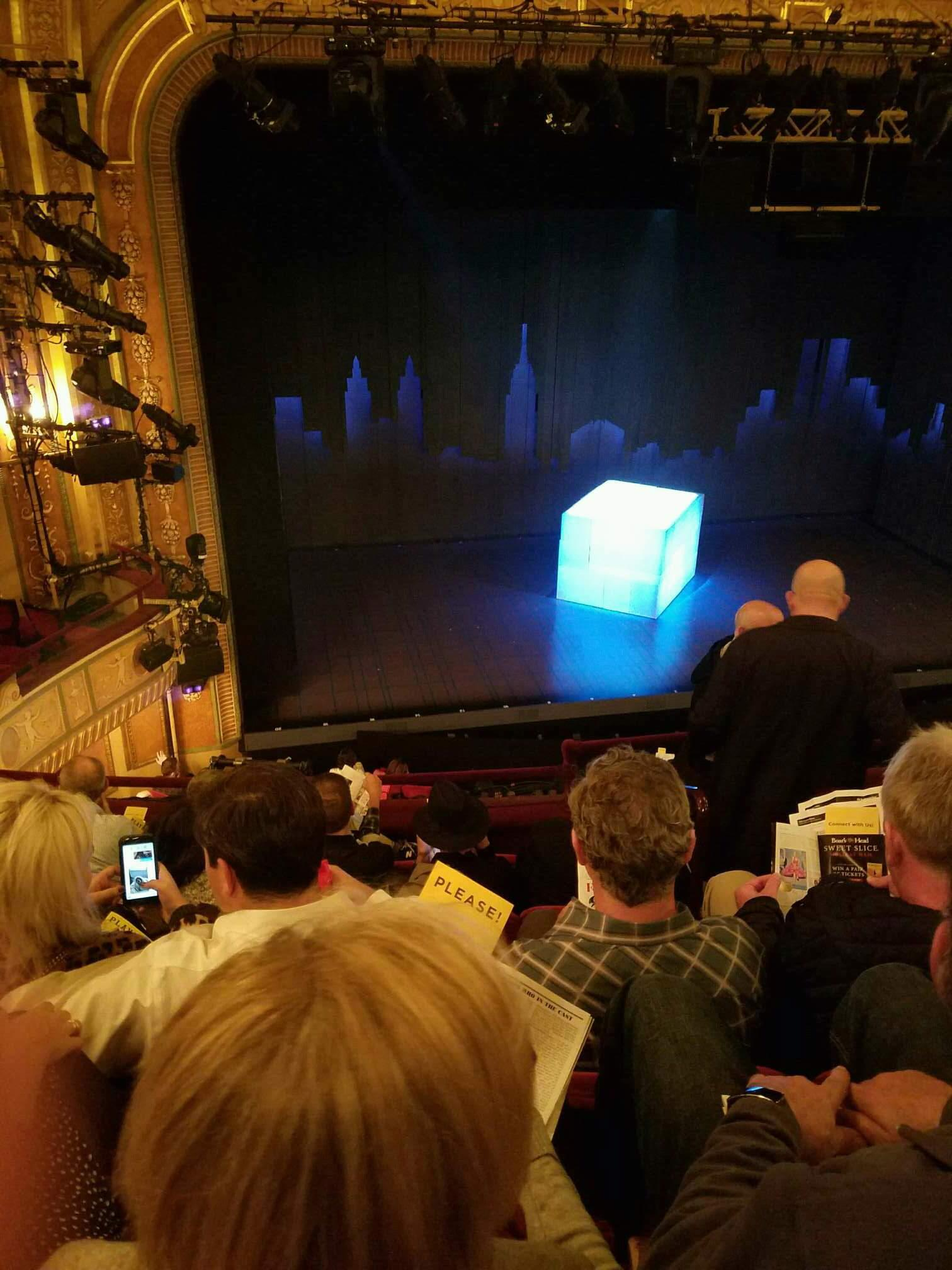 Walter Kerr Theatre Section Mezzanine L Row F Seat 5
