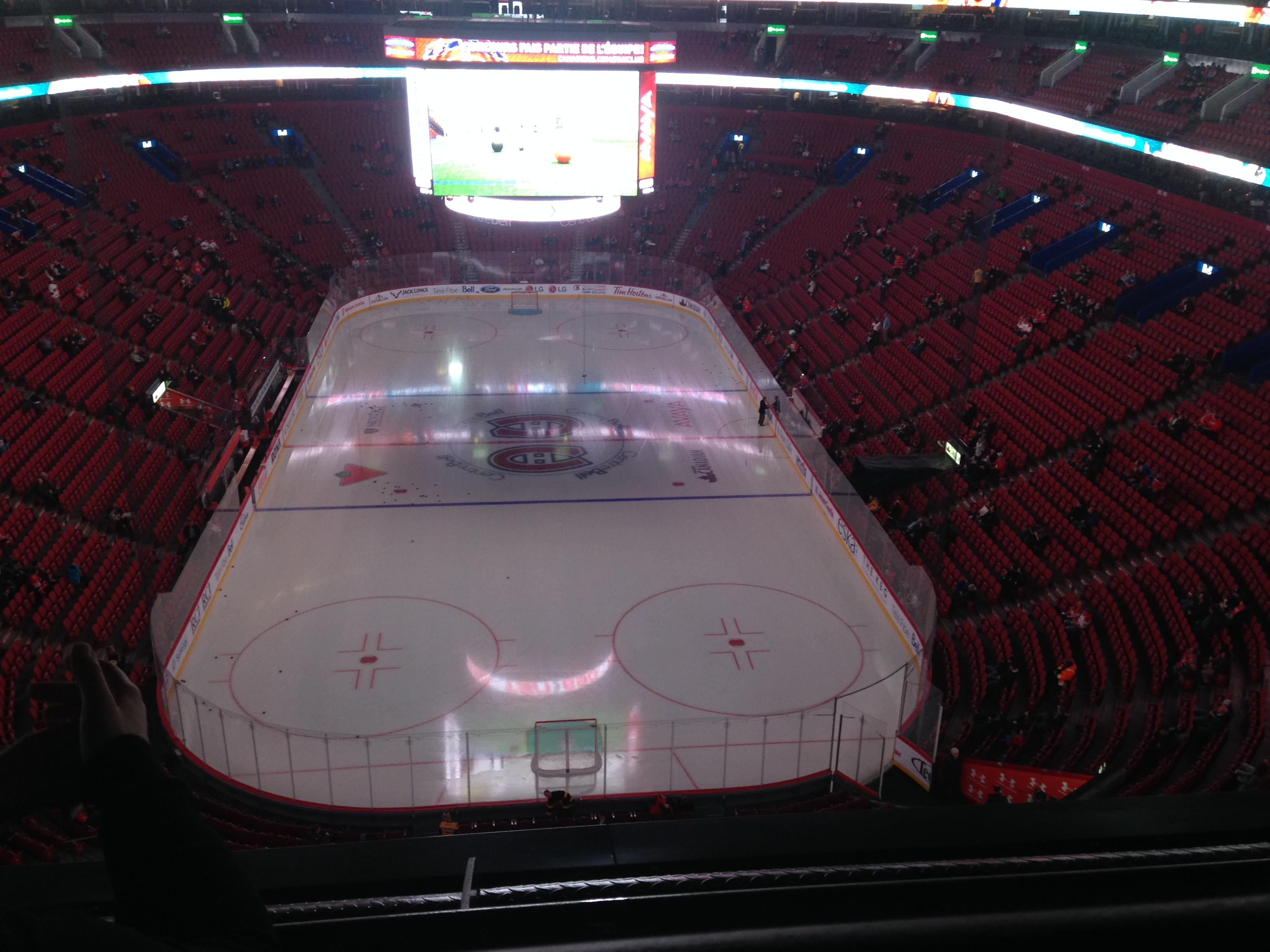 Centre Bell Section 328 Row BB  Seat 12