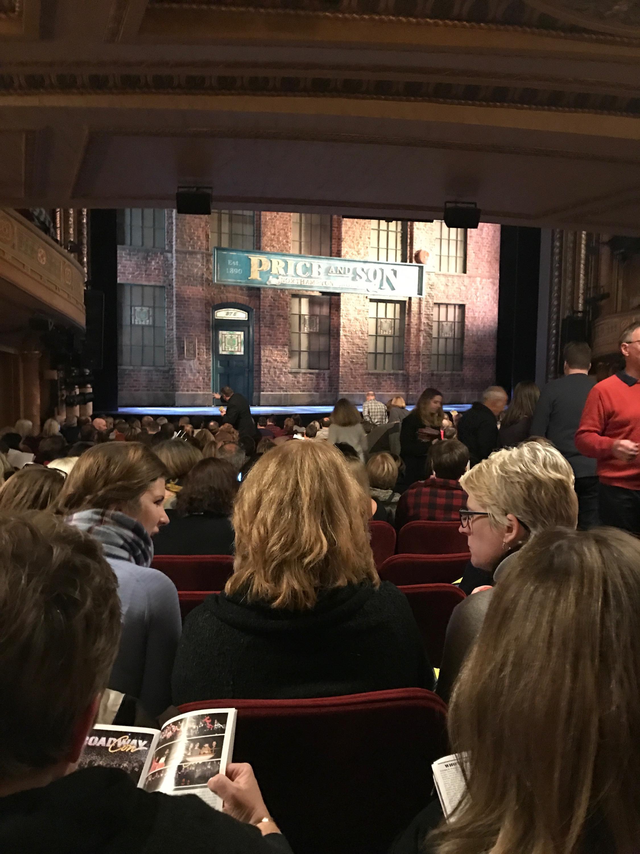 Al Hirschfeld Theatre Section Orchestra L Row T Seat 9