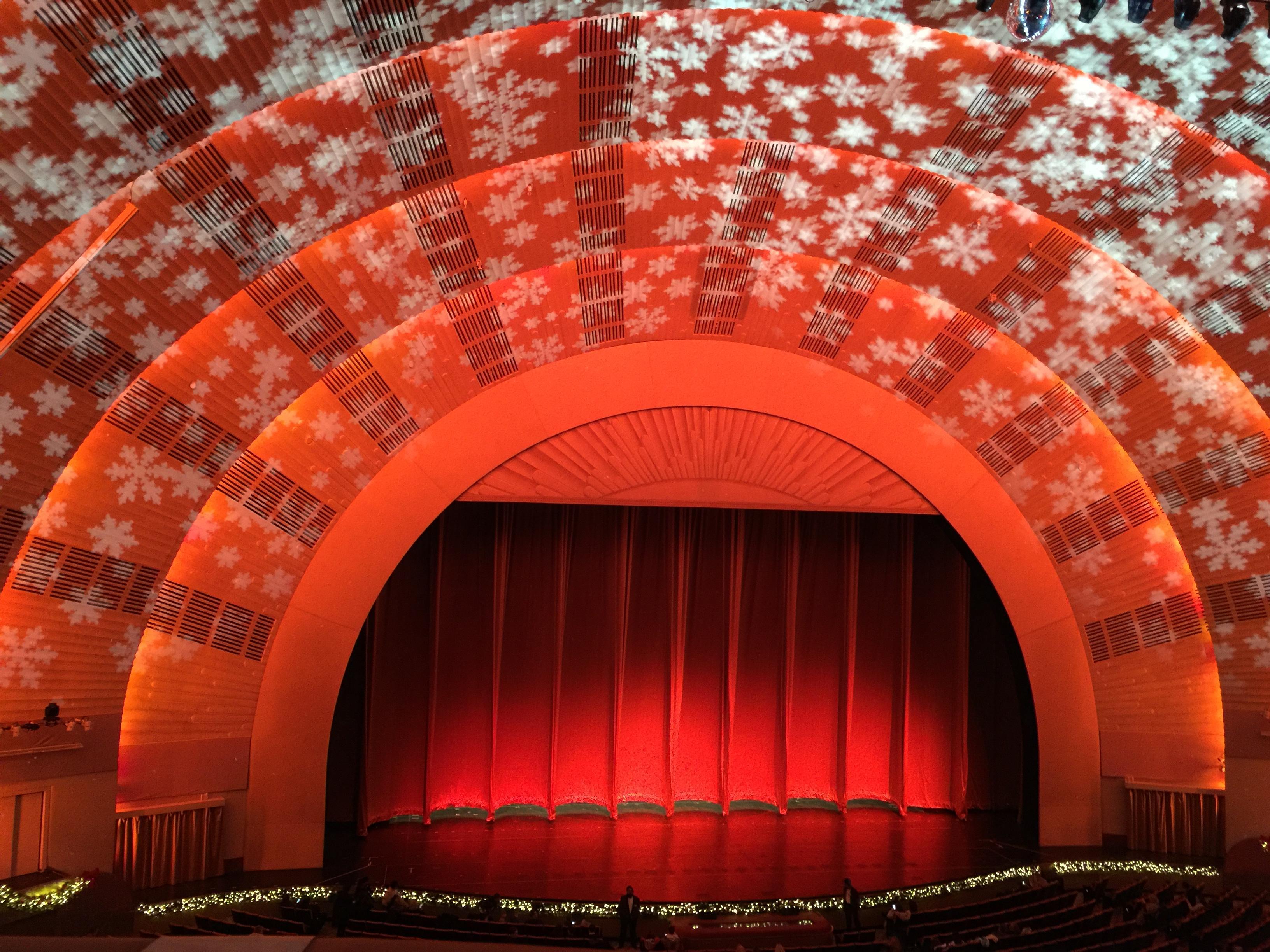 Radio City Music Hall Section 2nd Mezzanine 5 Row A Seat 510