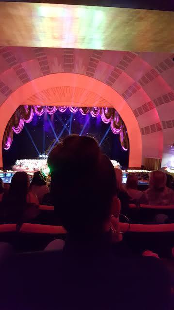 Radio City Music Hall Section 2nd Mezzanine 4 Row H Seat 408