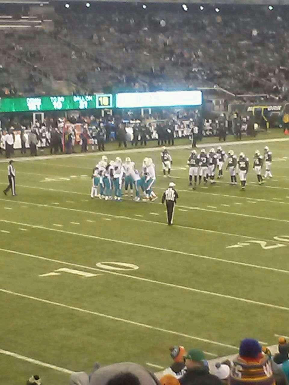MetLife Stadium Section 144 Row 21 Seat 19