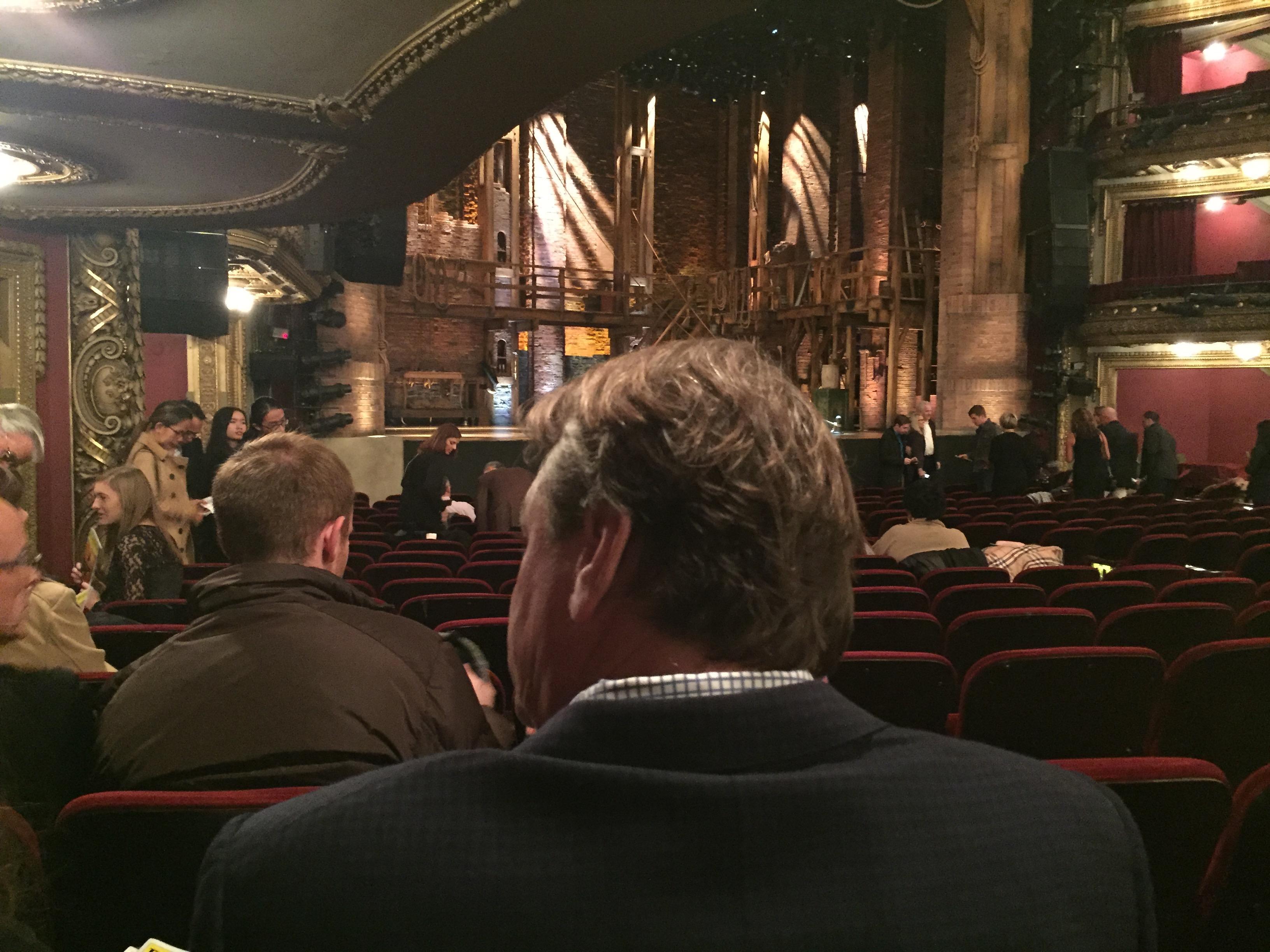 CIBC Theatre Section Orchestra L Row S Seat 17