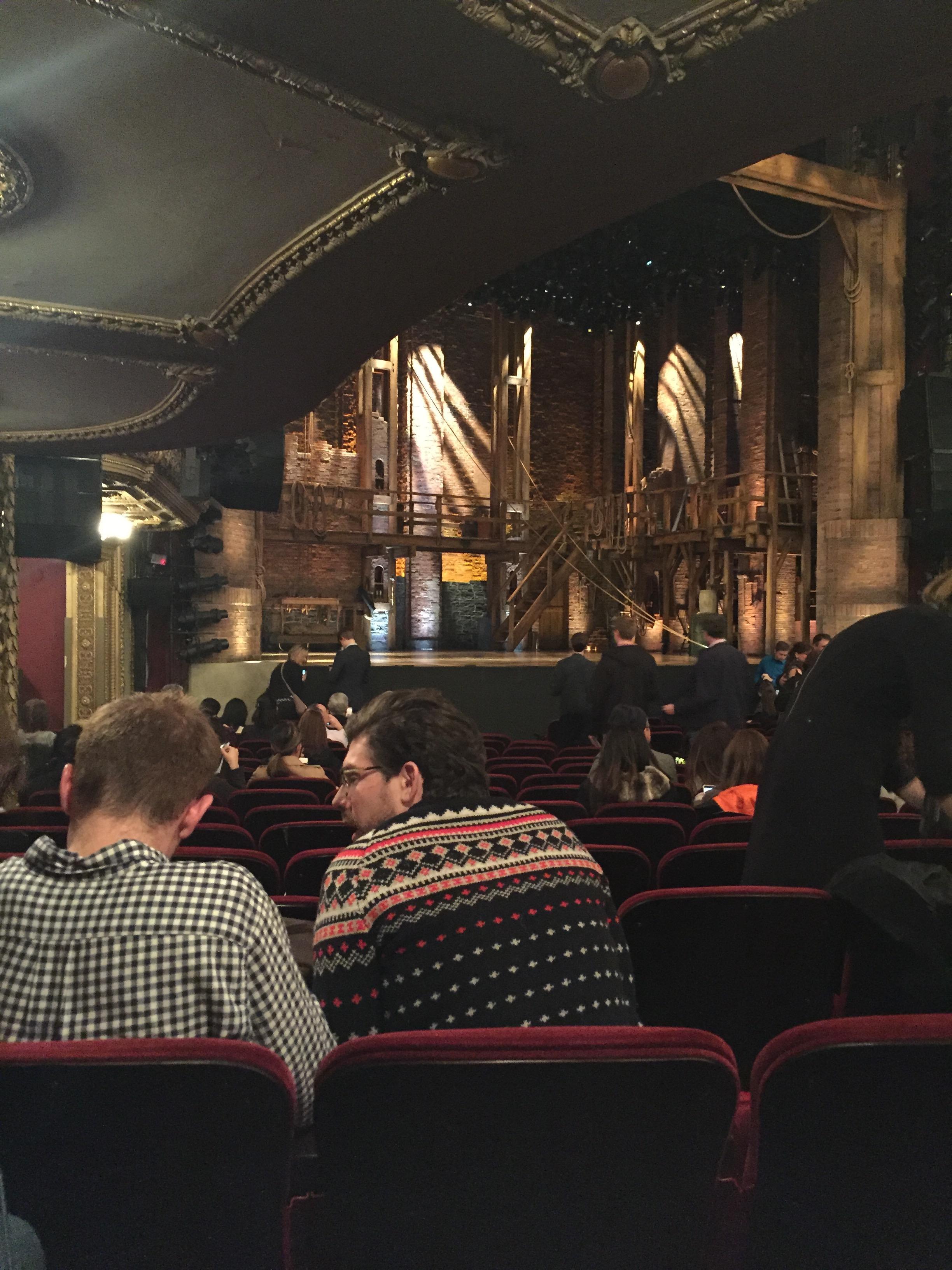 CIBC Theatre Section Orchestra L Row S Seat 19