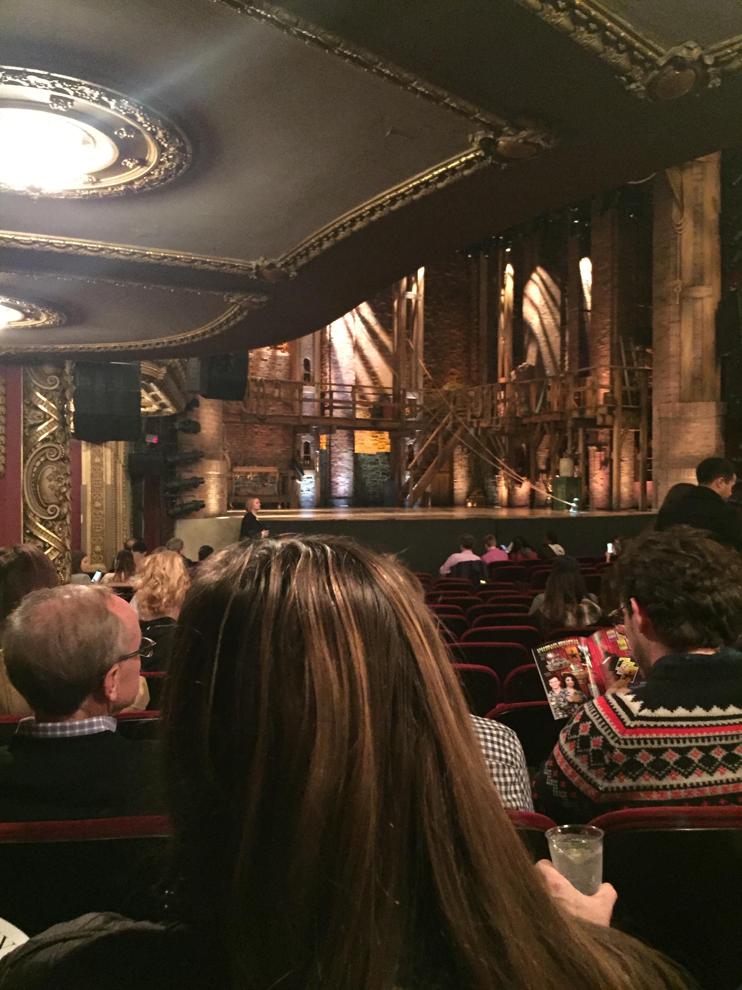 CIBC Theatre Section Orchestra L Row S Seat 21