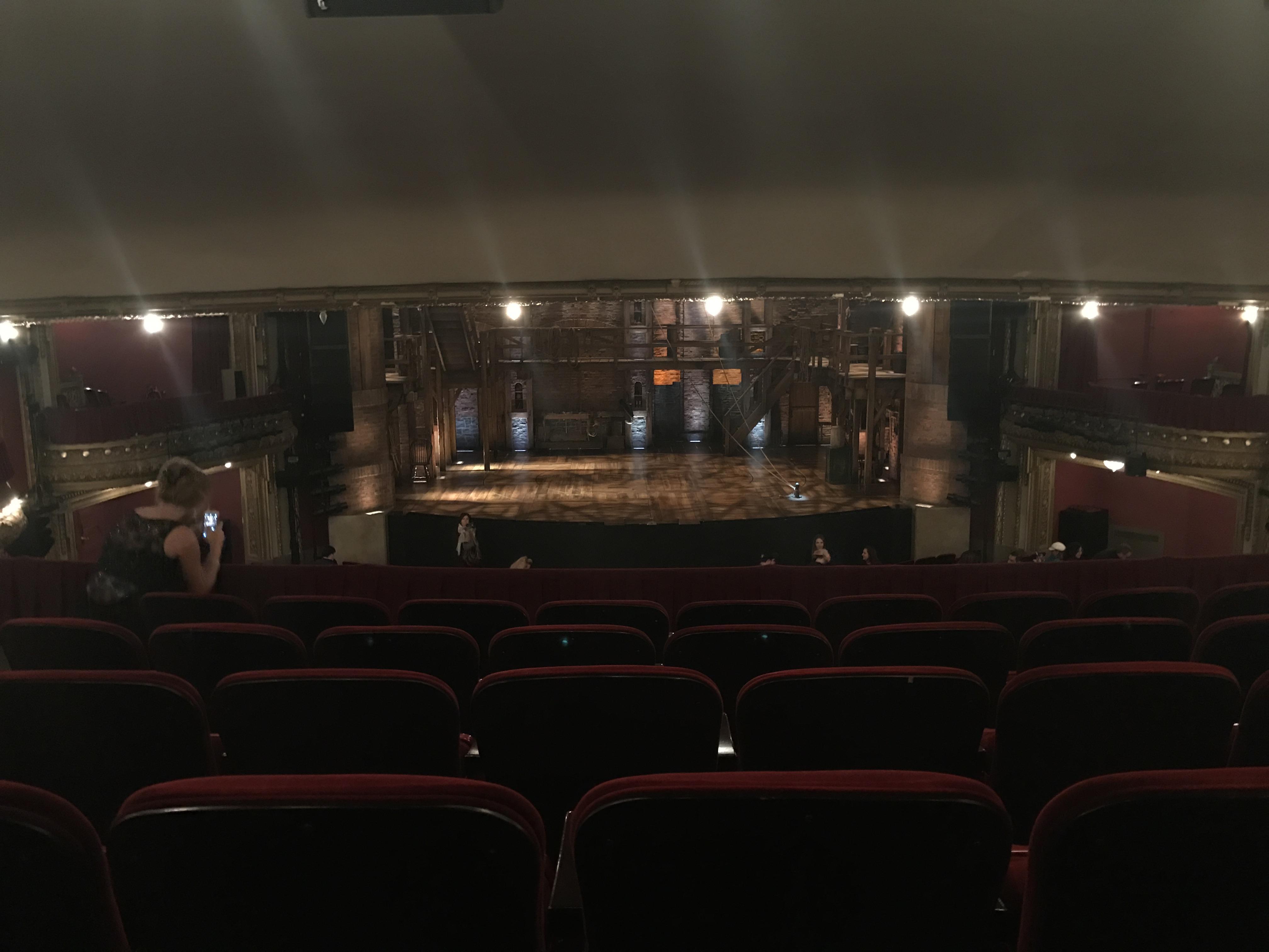 CIBC Theatre Section Dress circle c Row F Seat 204