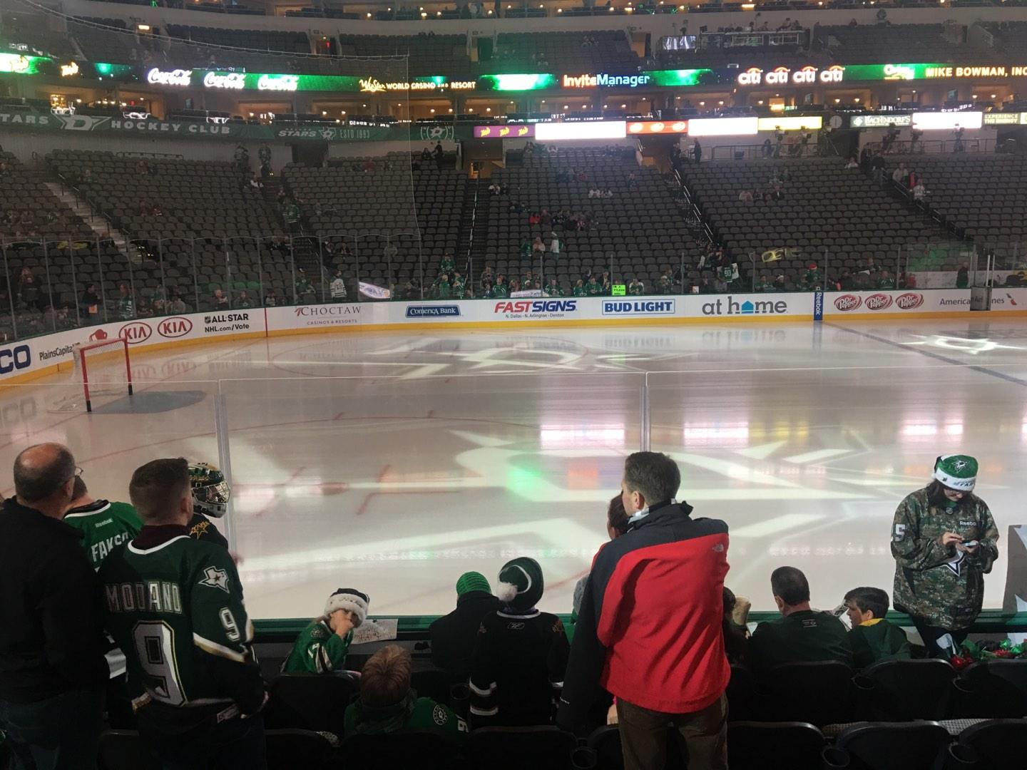 American Airlines Center Section 120 Row F Seat 15-16
