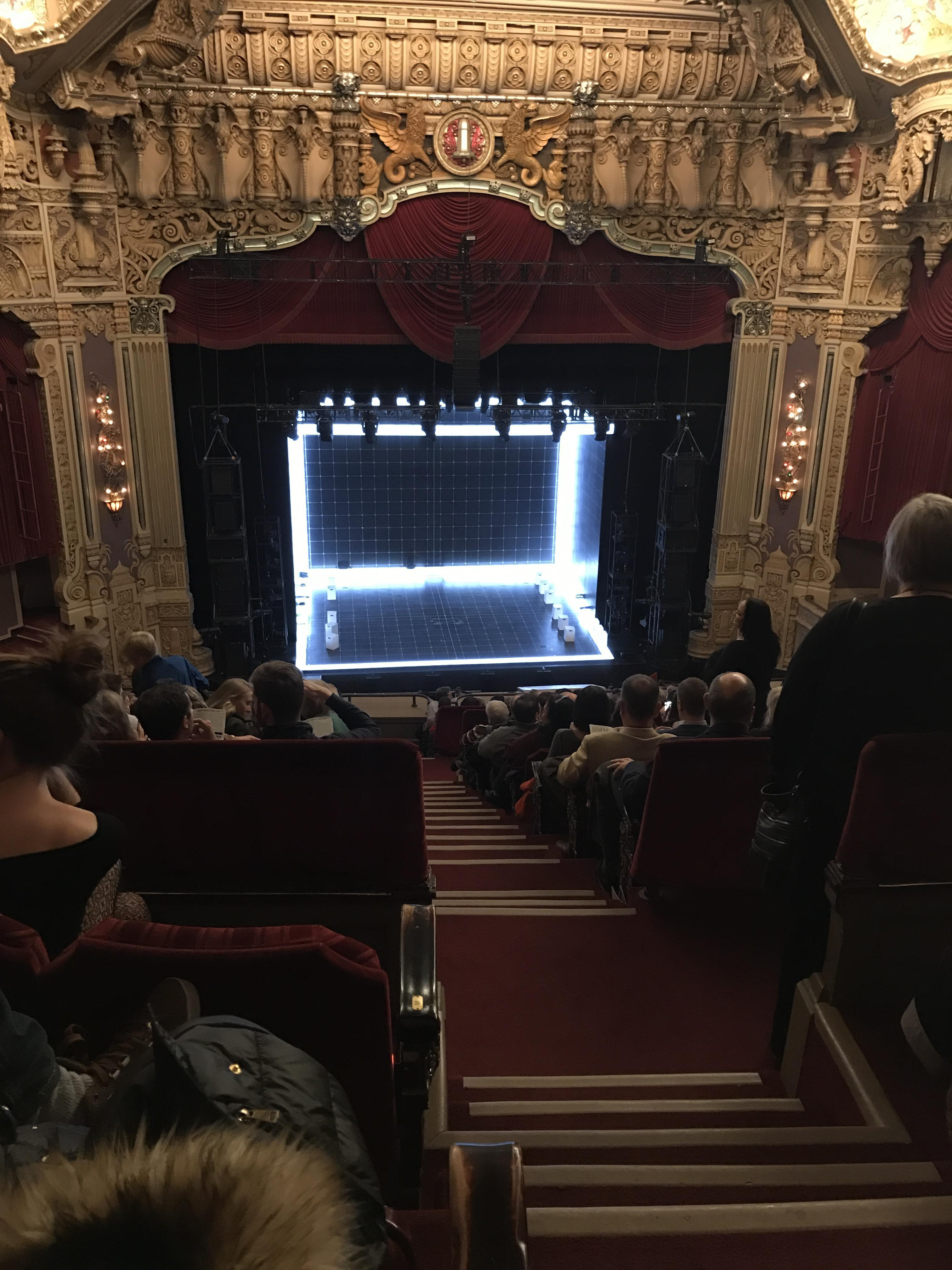 Oriental Theatre Section Balcony LC Row O Seat 321