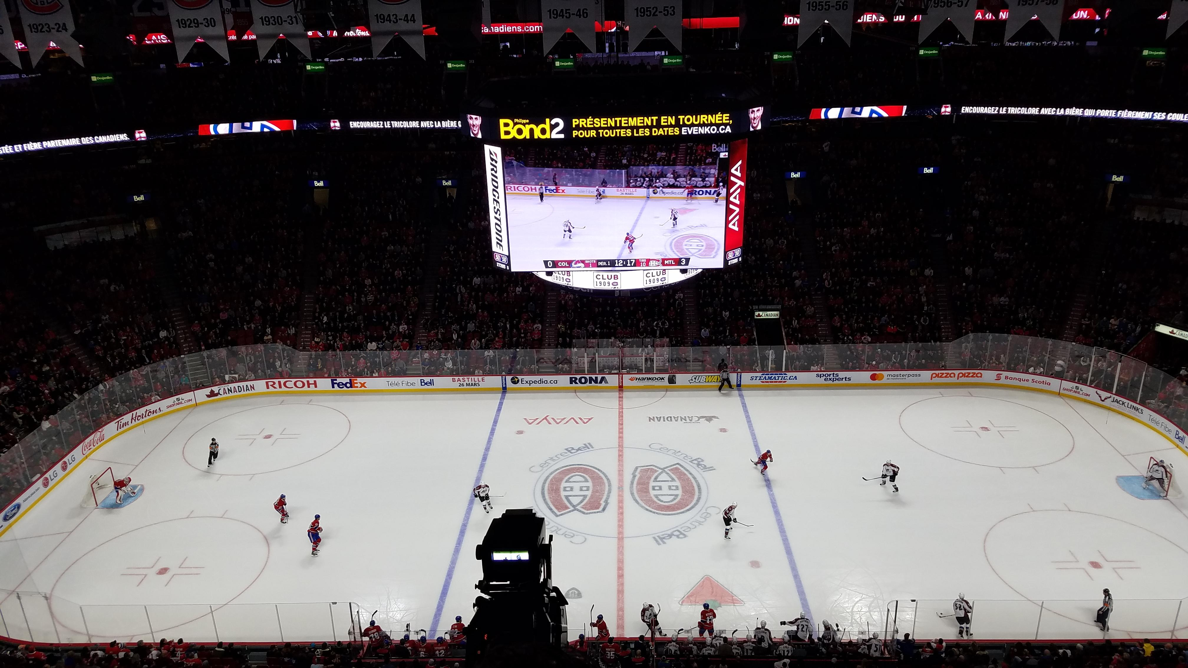Centre Bell Section 301 Row EE Seat 5