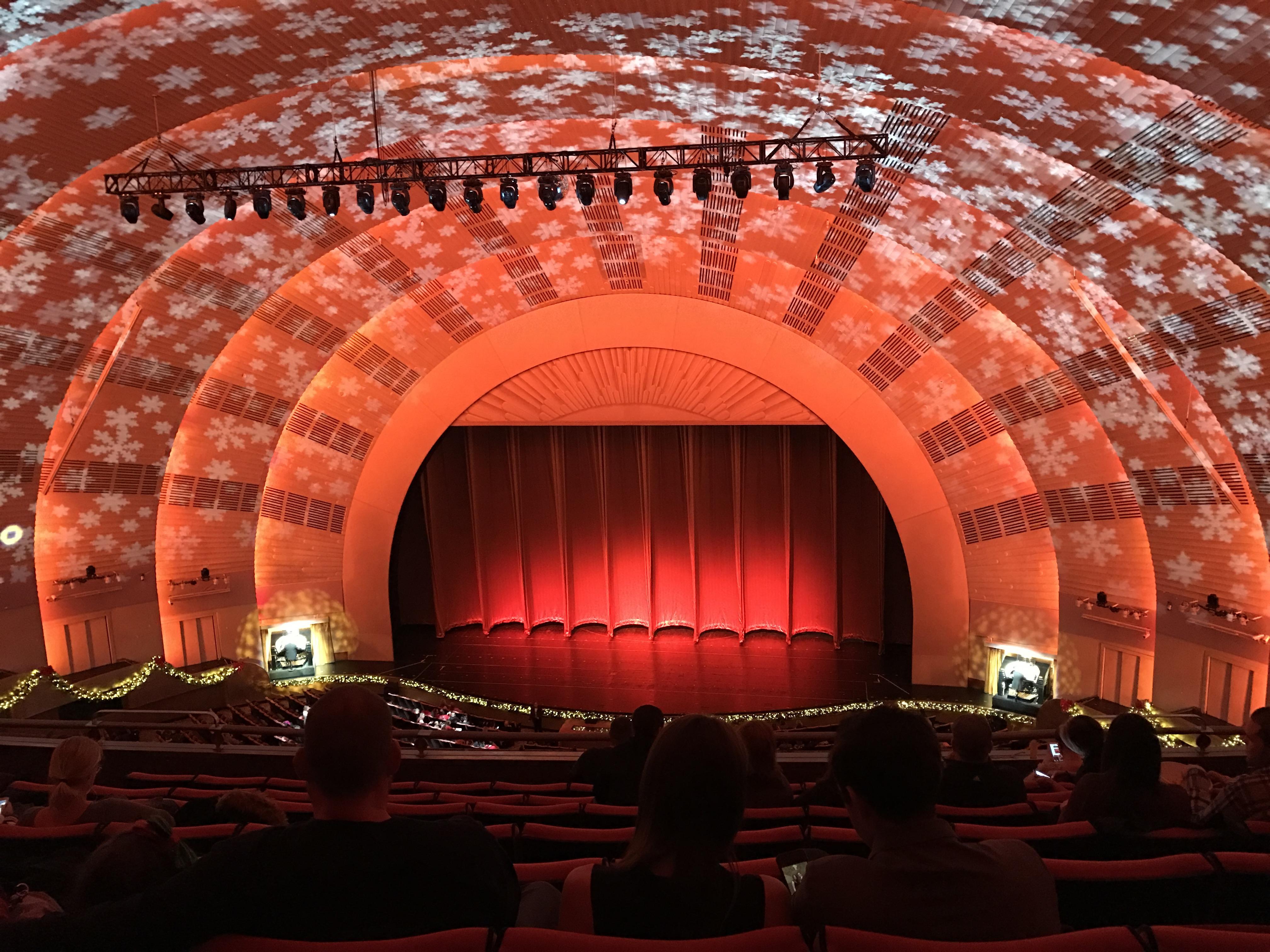 Radio City Music Hall Section 3rd Mezzanine 3 Row H Seat 304