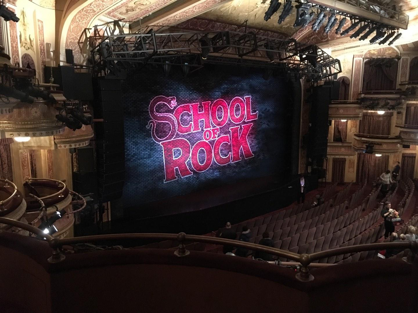 Winter Garden Theatre Section Mezz Row C Seat 3