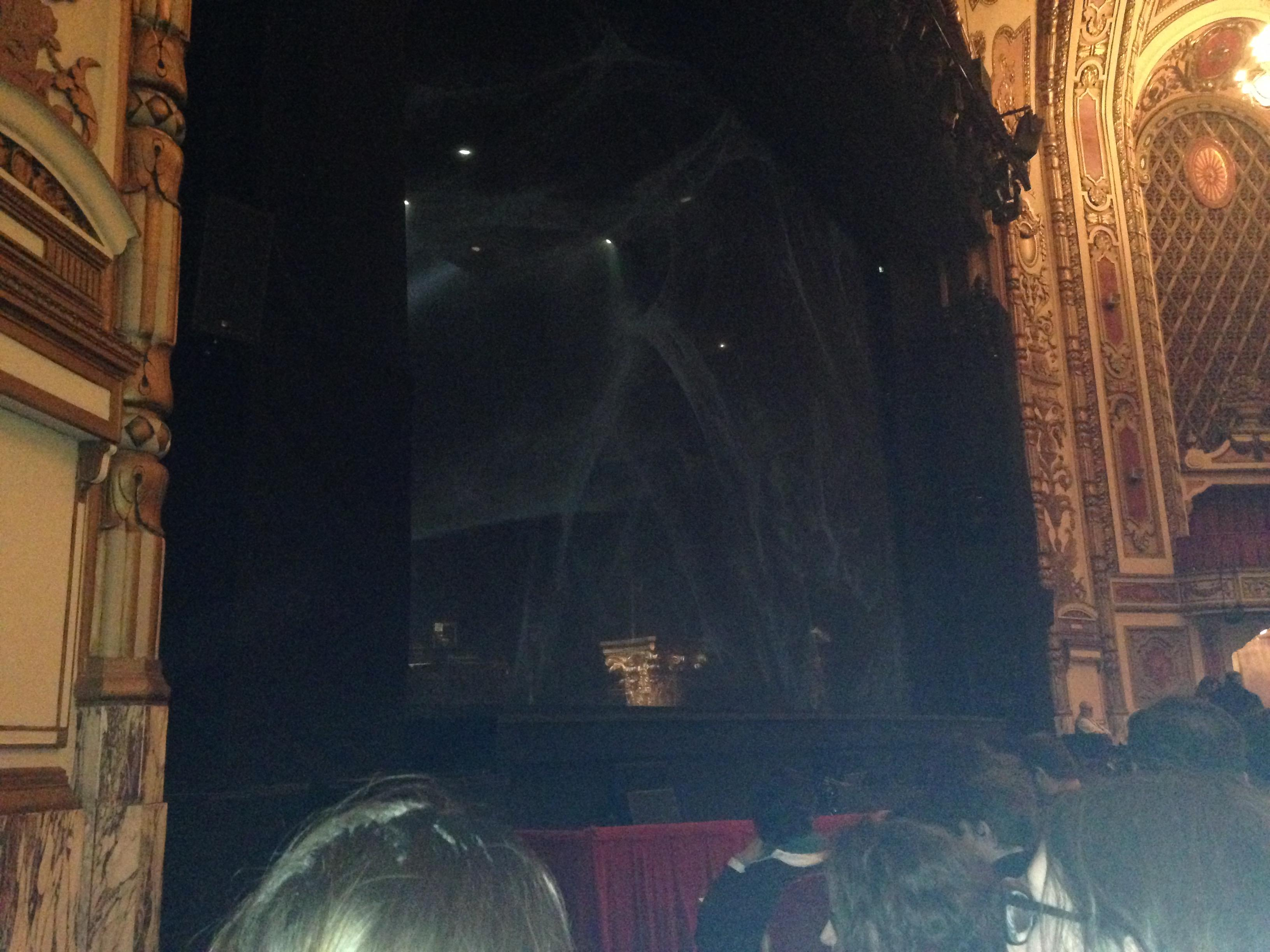 Cadillac Palace Theater Section Orchestra L Row E Seat 23