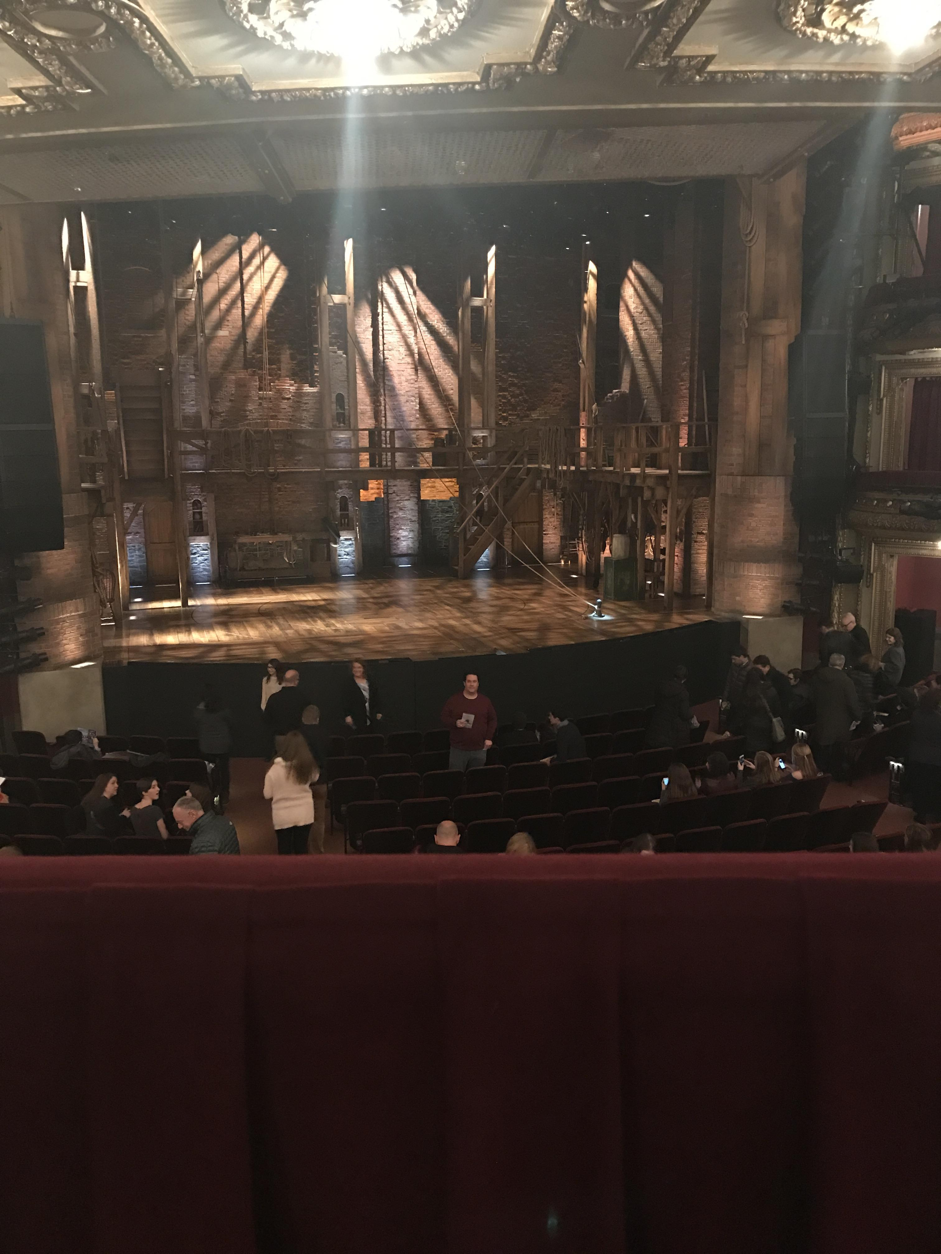 CIBC Theatre Section Dress circle lc Row a Seat 223