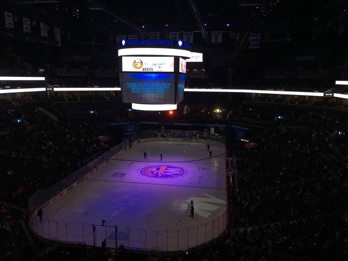 Barclays Center Section 215 Row 5 Seat 5
