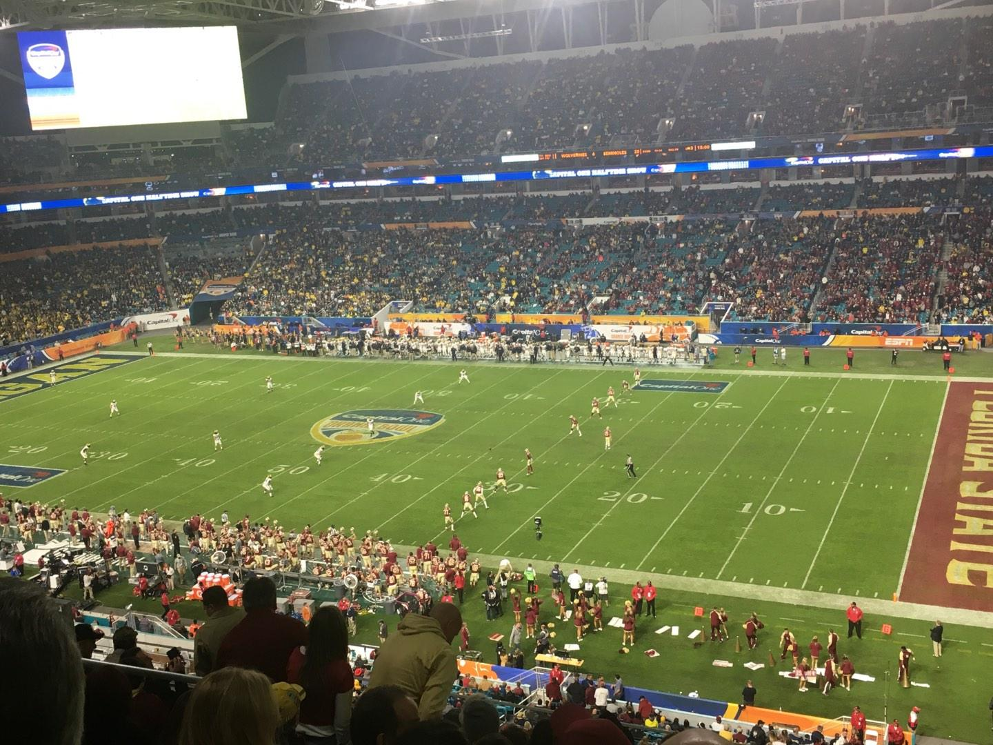 Hard Rock Stadium Section 342 Row 9 Seat 17