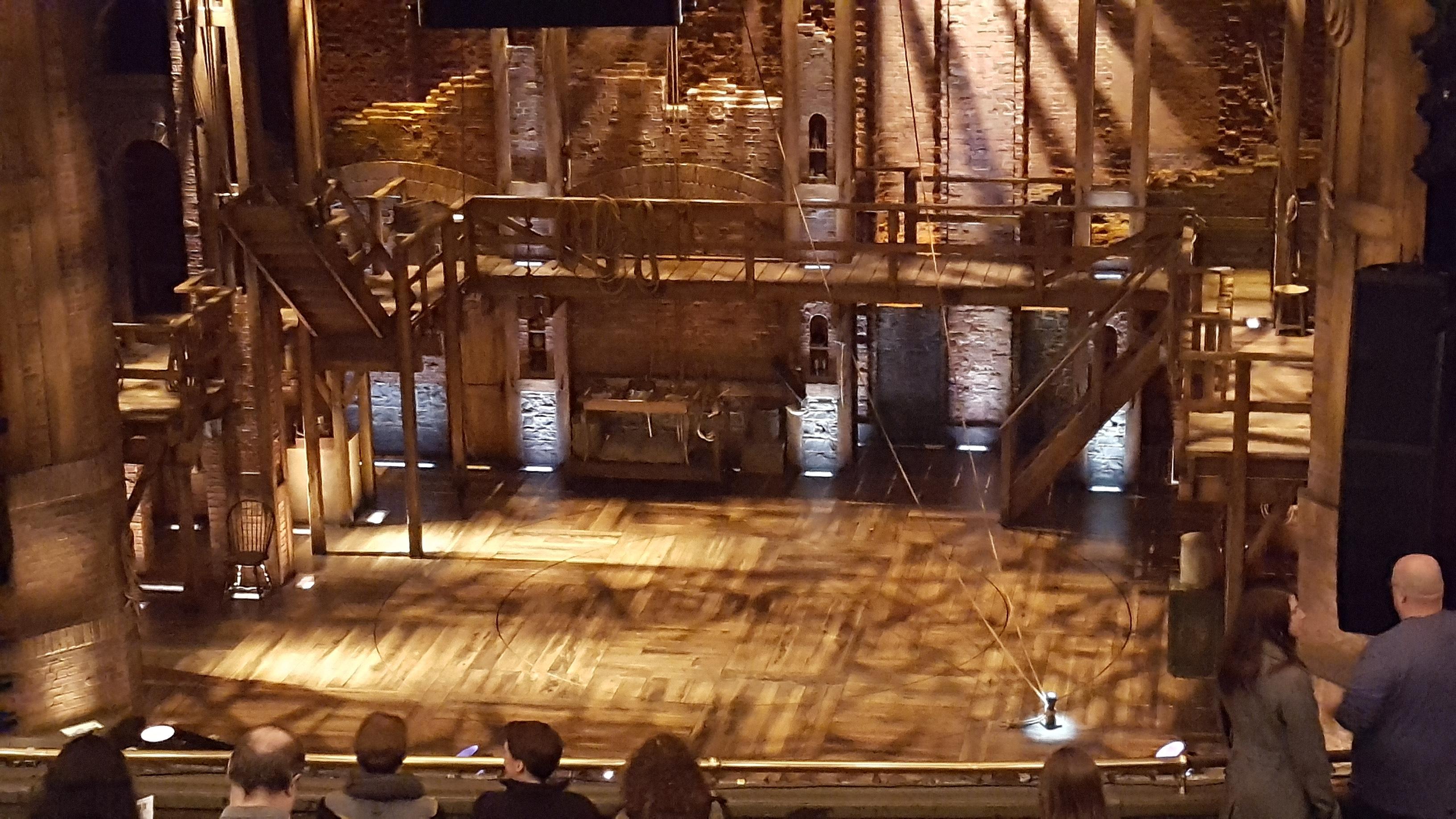 CIBC Theatre Section Mezzanine RC Row M Seat 318