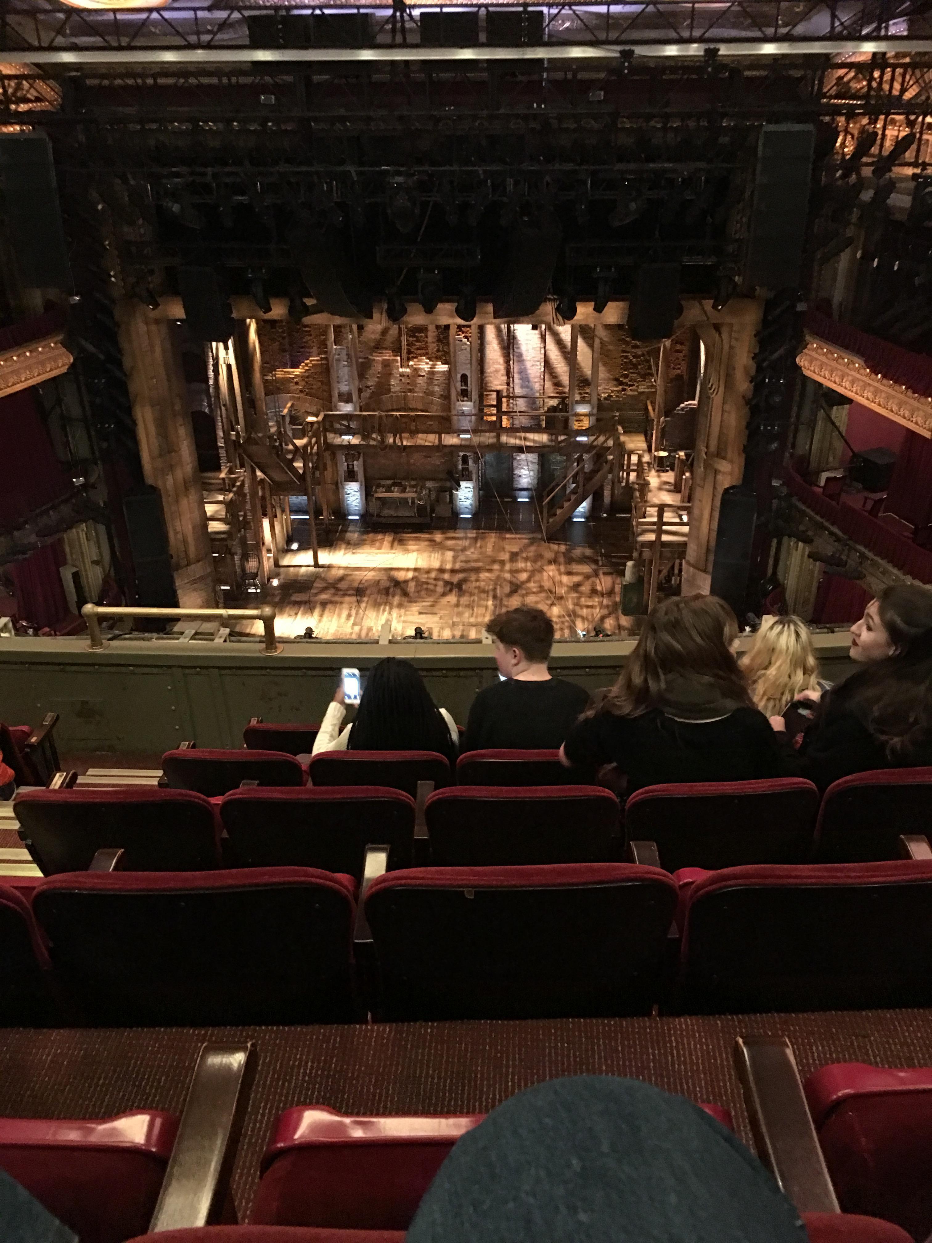 CIBC Theatre Section Balcony RC Row F Seat 406