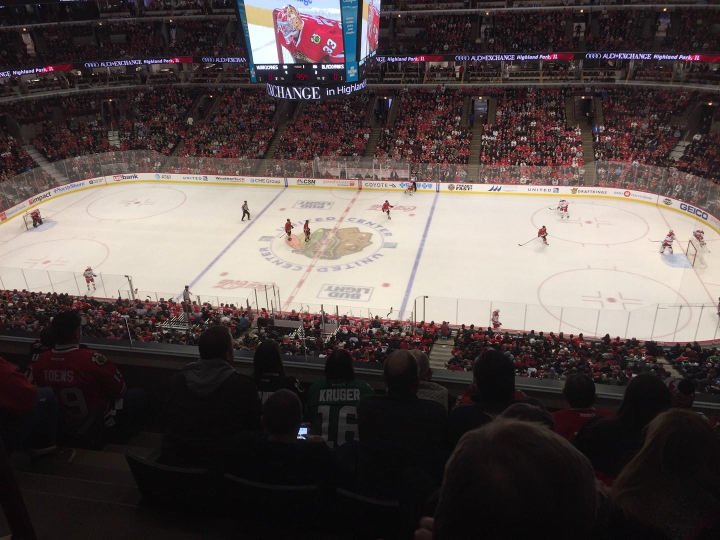 United Center Section 333 Row 5 Seat 14