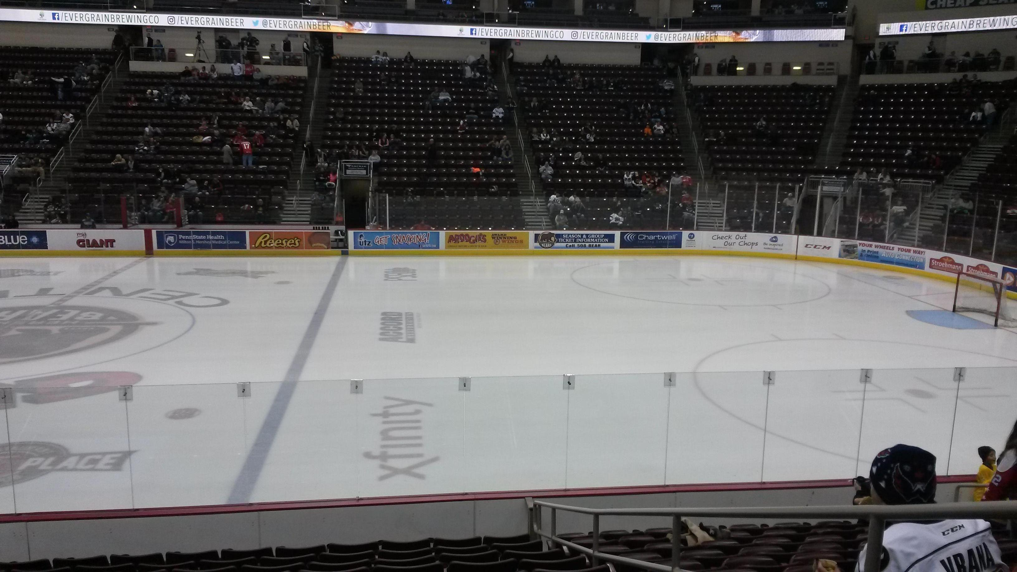 Giant Center Section 108c Row L Seat 3