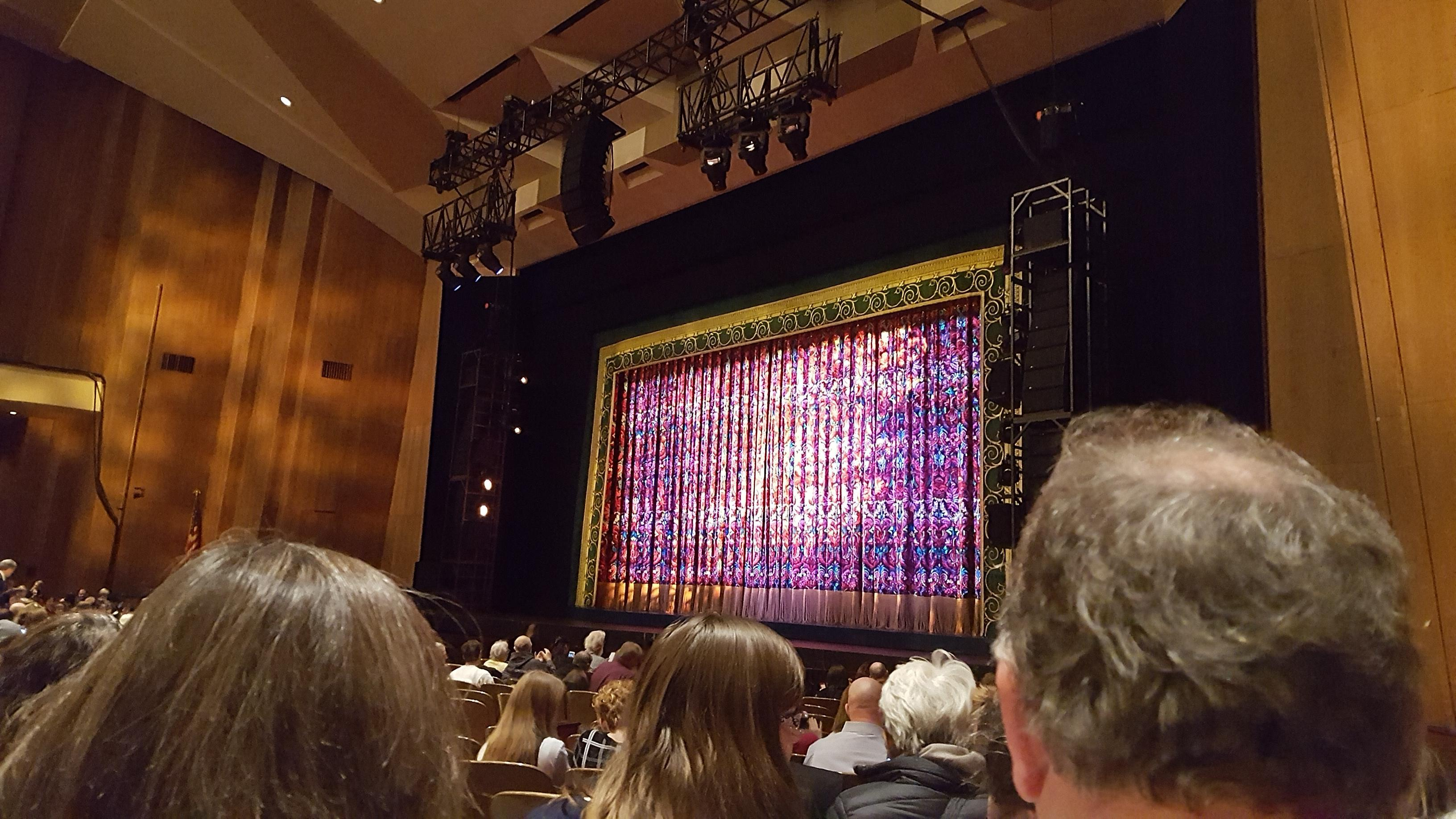 Keller Auditorium Section Orchestra E Row N Seat 8
