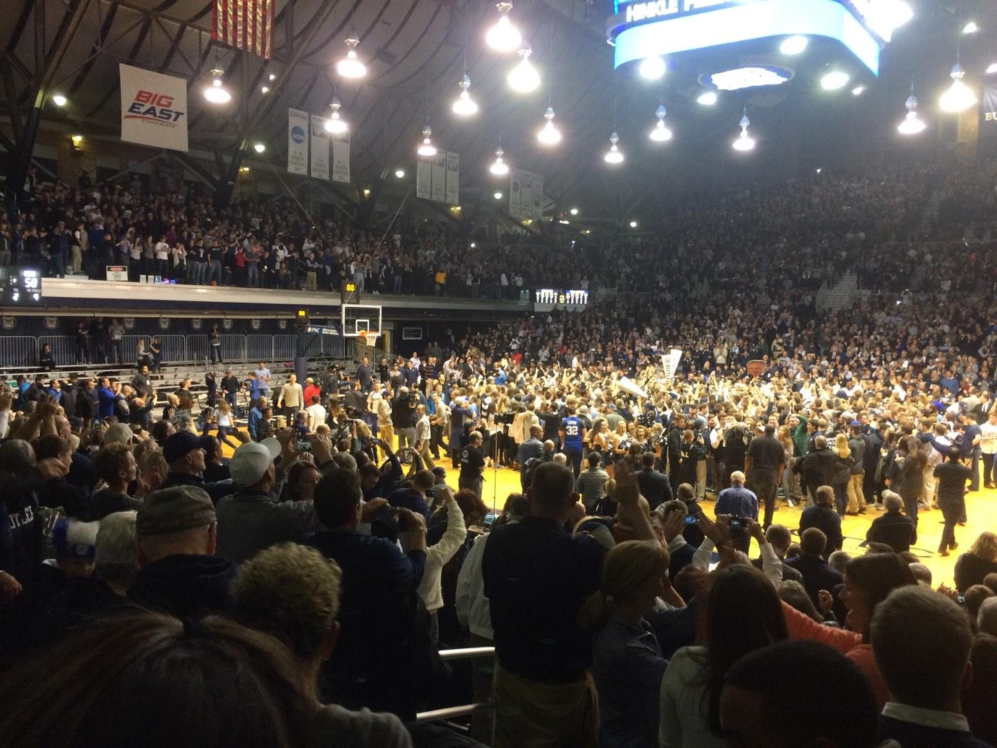 Hinkle Fieldhouse Section 121 Row 11 Seat 12