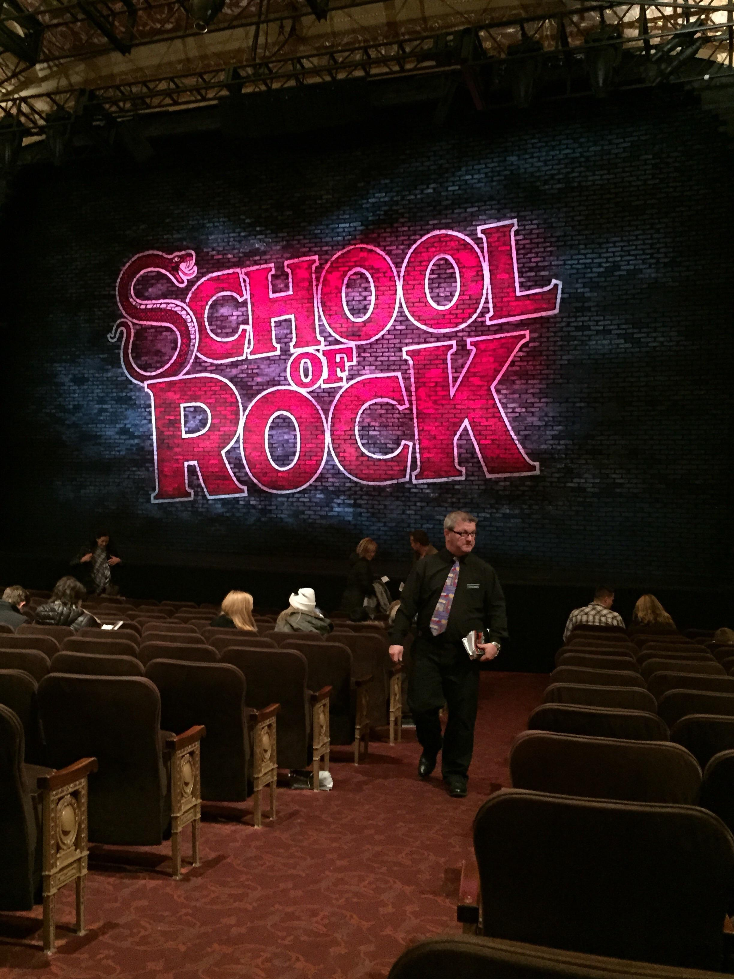 Winter Garden Theatre Section Orchestra Right Row O Seat 2