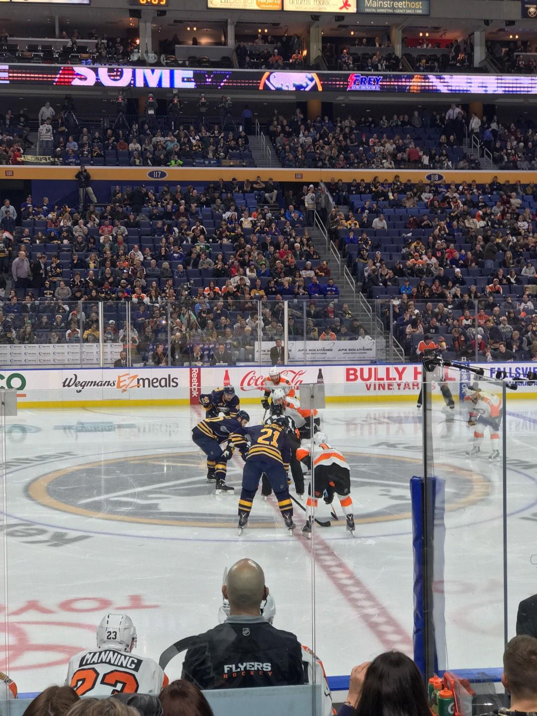 KeyBank Center Section 105 Row 8 Seat 16
