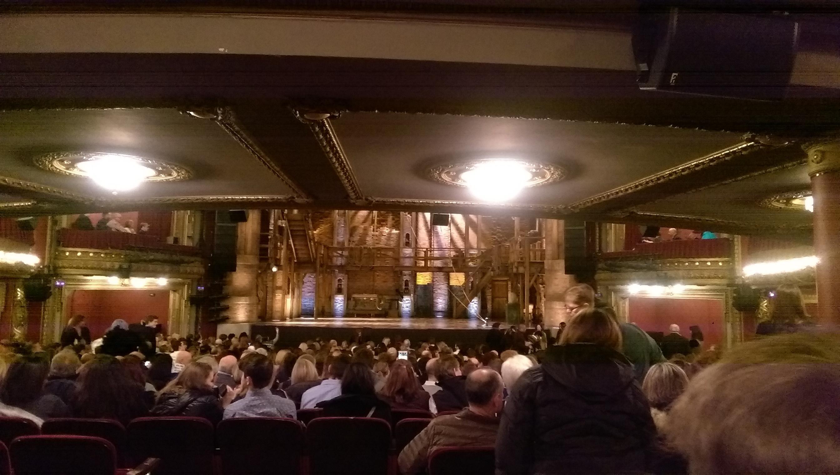 CIBC Theatre Section Orchestra C Row Z Seat 112